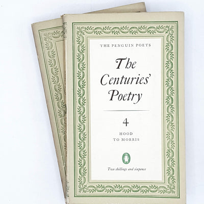 Collection Penguin Poetry: Comic and Curious Verse and The Centuries' Poetry IV 1952 - 1945