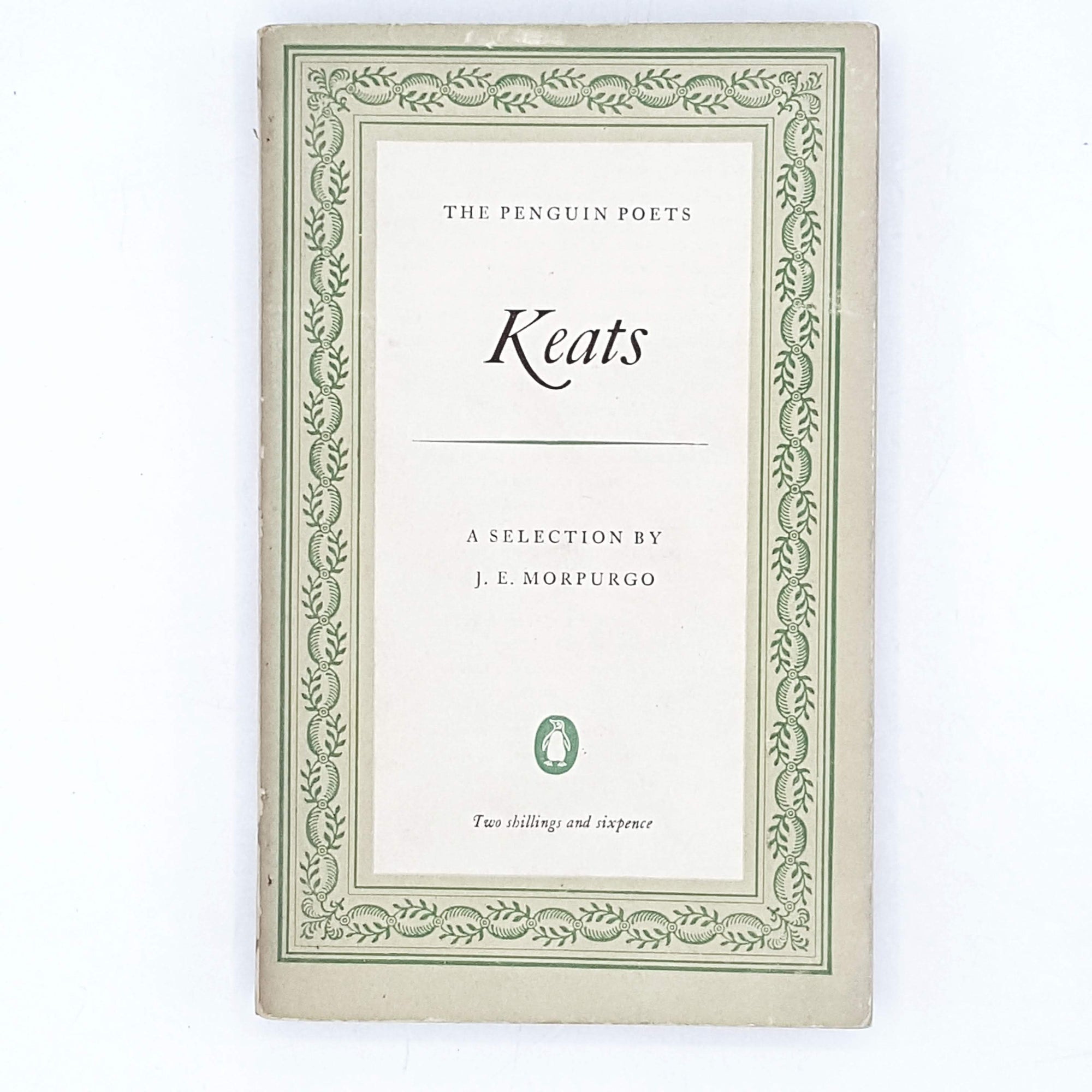 First Edition Penguin Poetry: Keats 1953