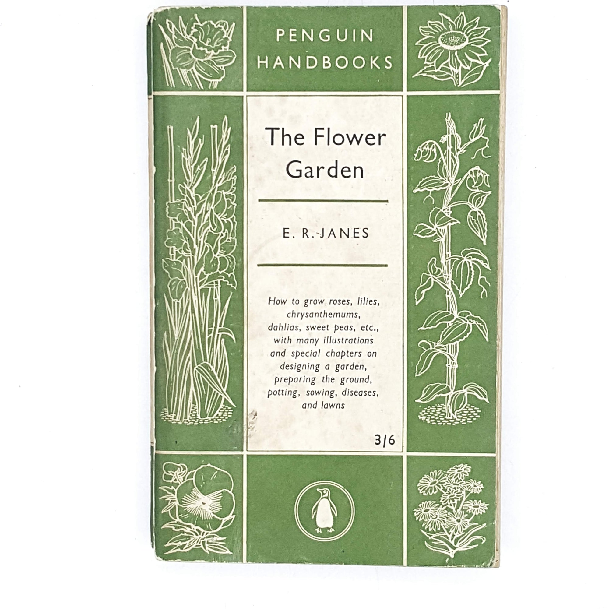 Vintage Penguin Handbook: The Flower Garden 1953