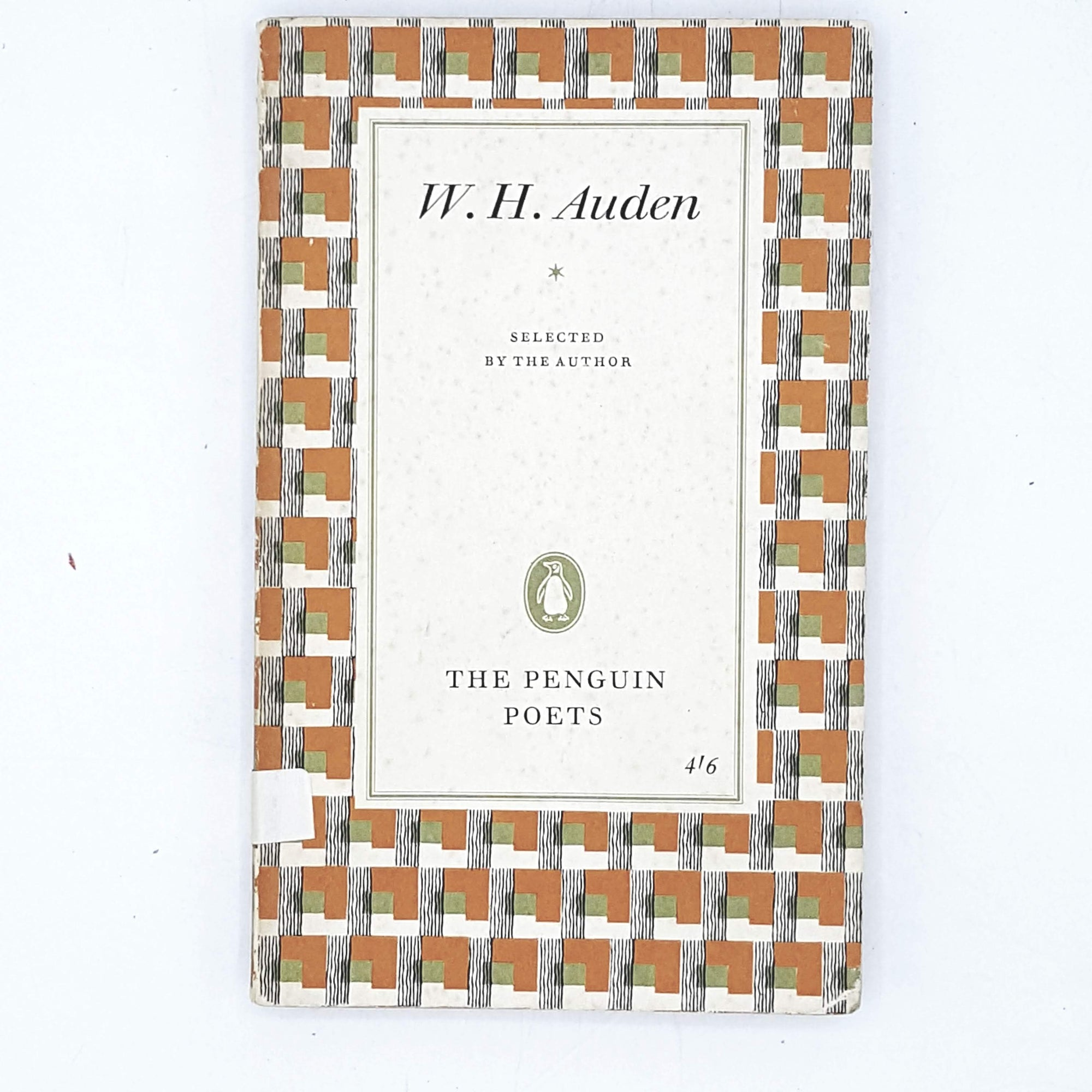 Vintage Penguin Poetry: W. H. Auden Selected Poetry 1962