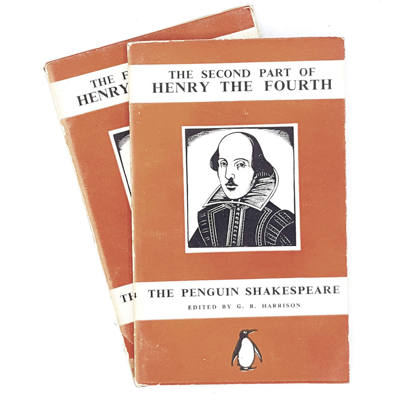 First Edition Collection William Shakespeare's Henry the Fourth pt. I & II 1938
