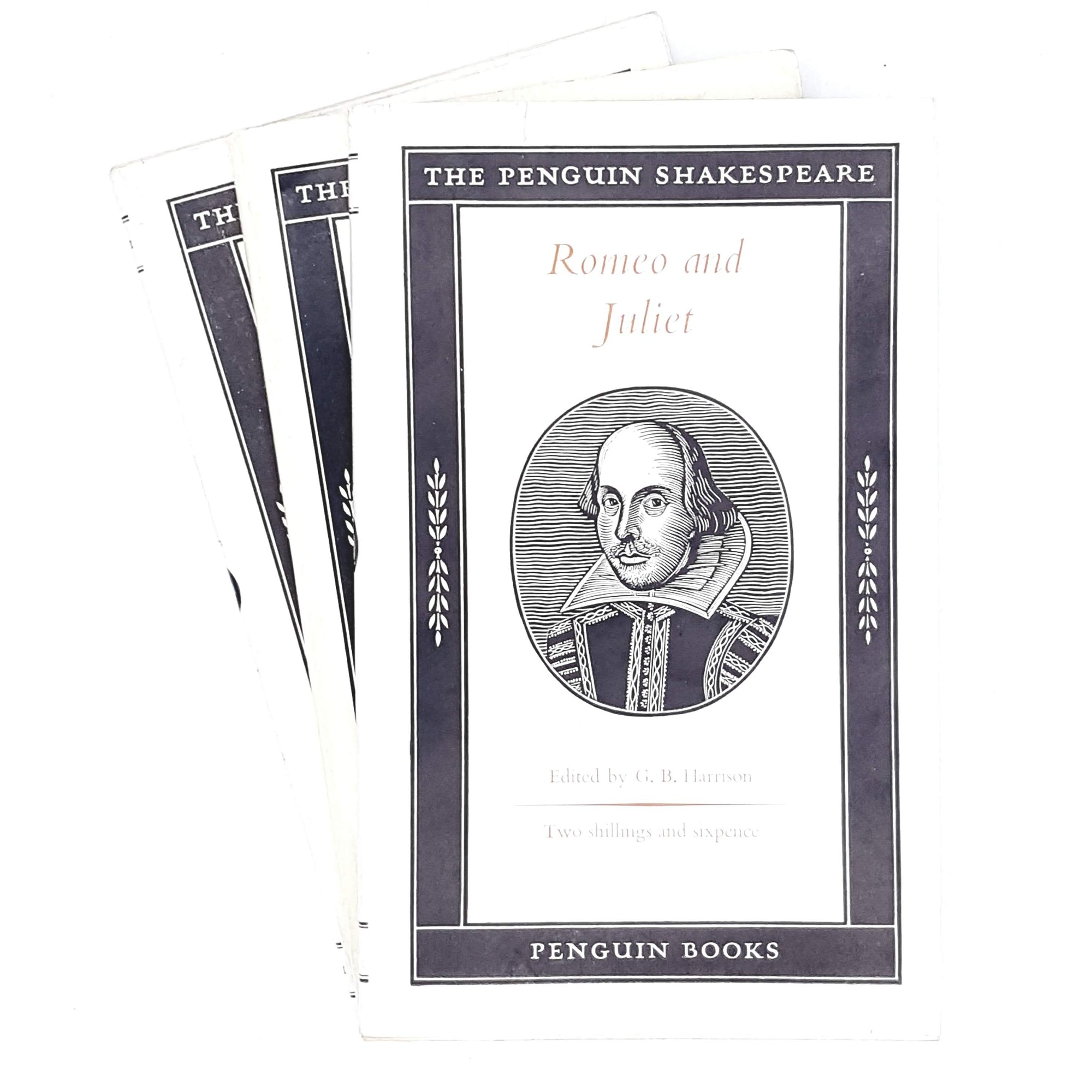 Collection William Shakespeare Vintage Penguin set 1957 - 1959