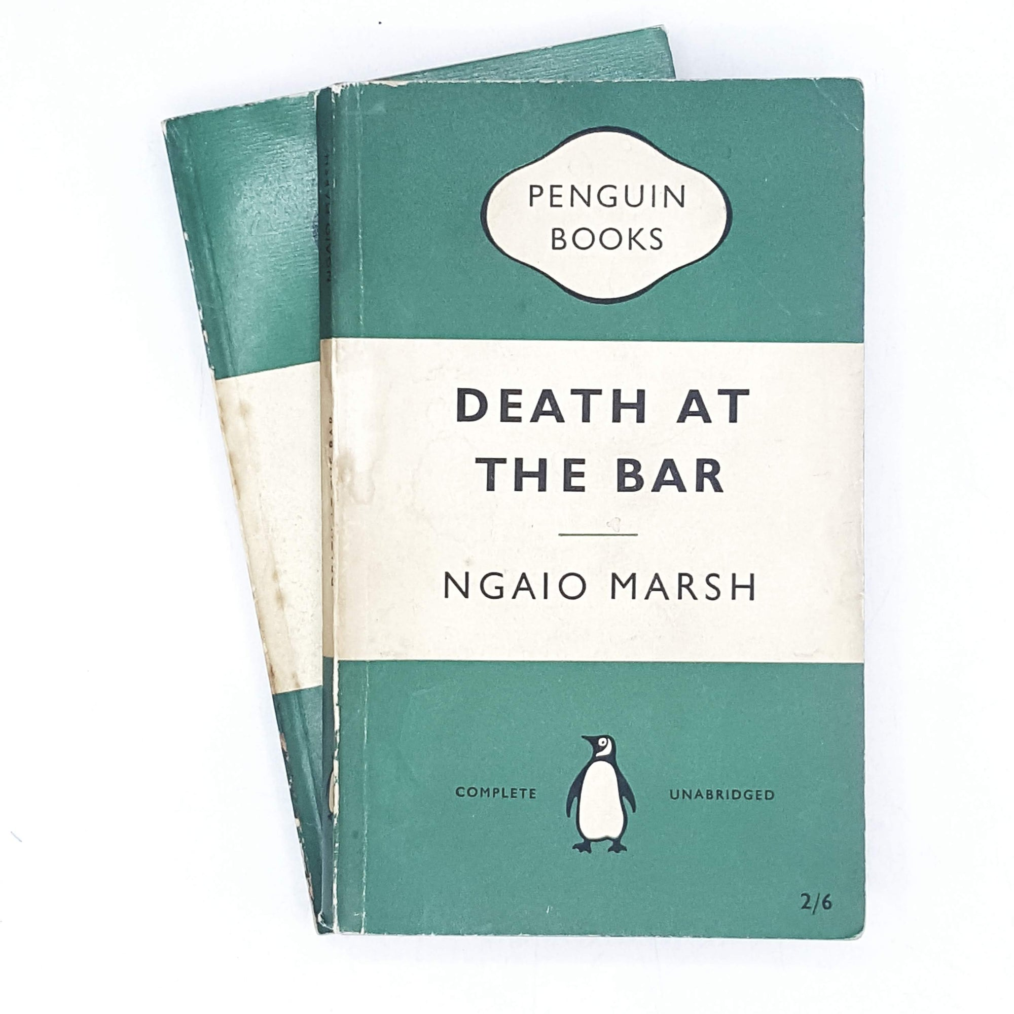 green-vintage-penguin-crime-ngaio-marsh-book-collection