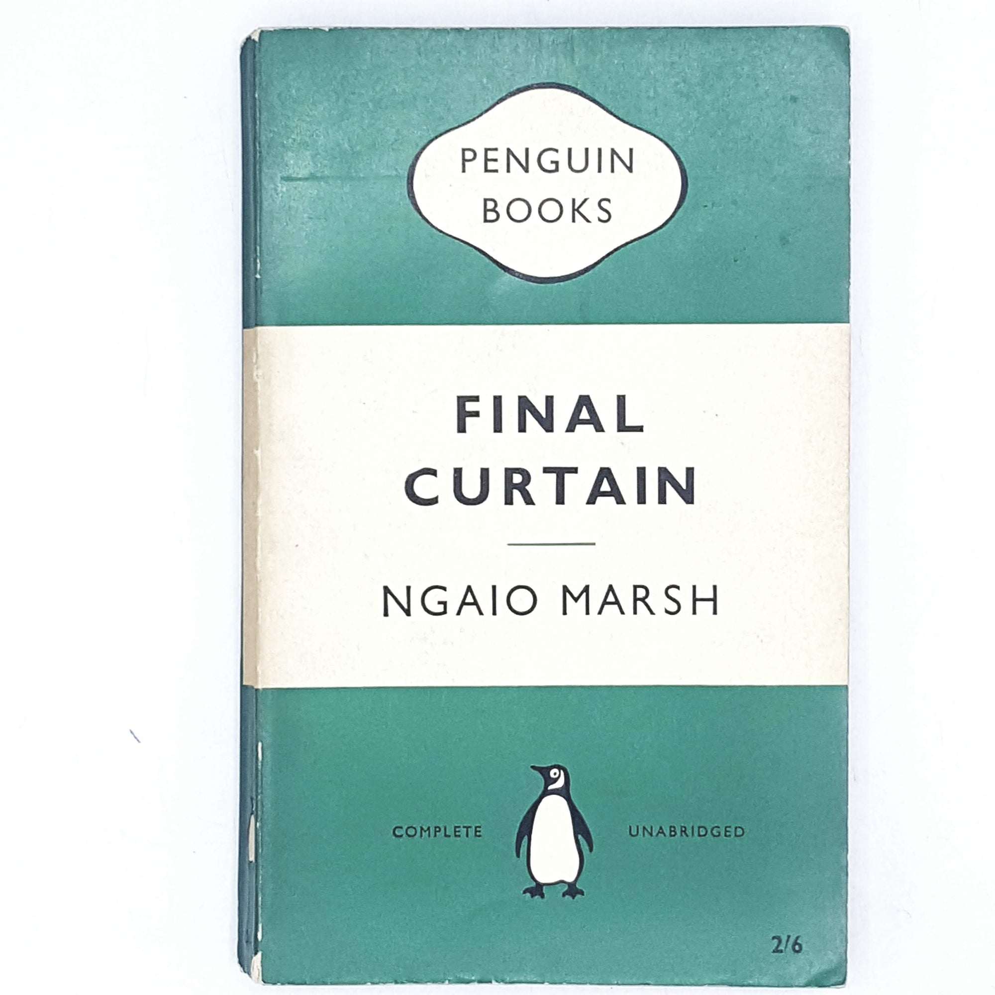 Vintage Penguin Nagio Marsh's Final Curtain 1959