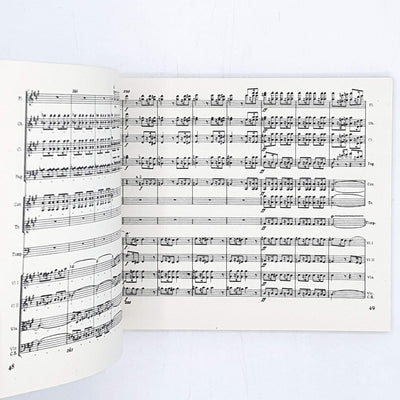 Penguin Scores: Beethoven's Symphony no. 7 in A 1953