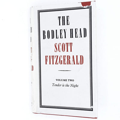 f-scott-fitzgerald-white-vintage-book-tender-night