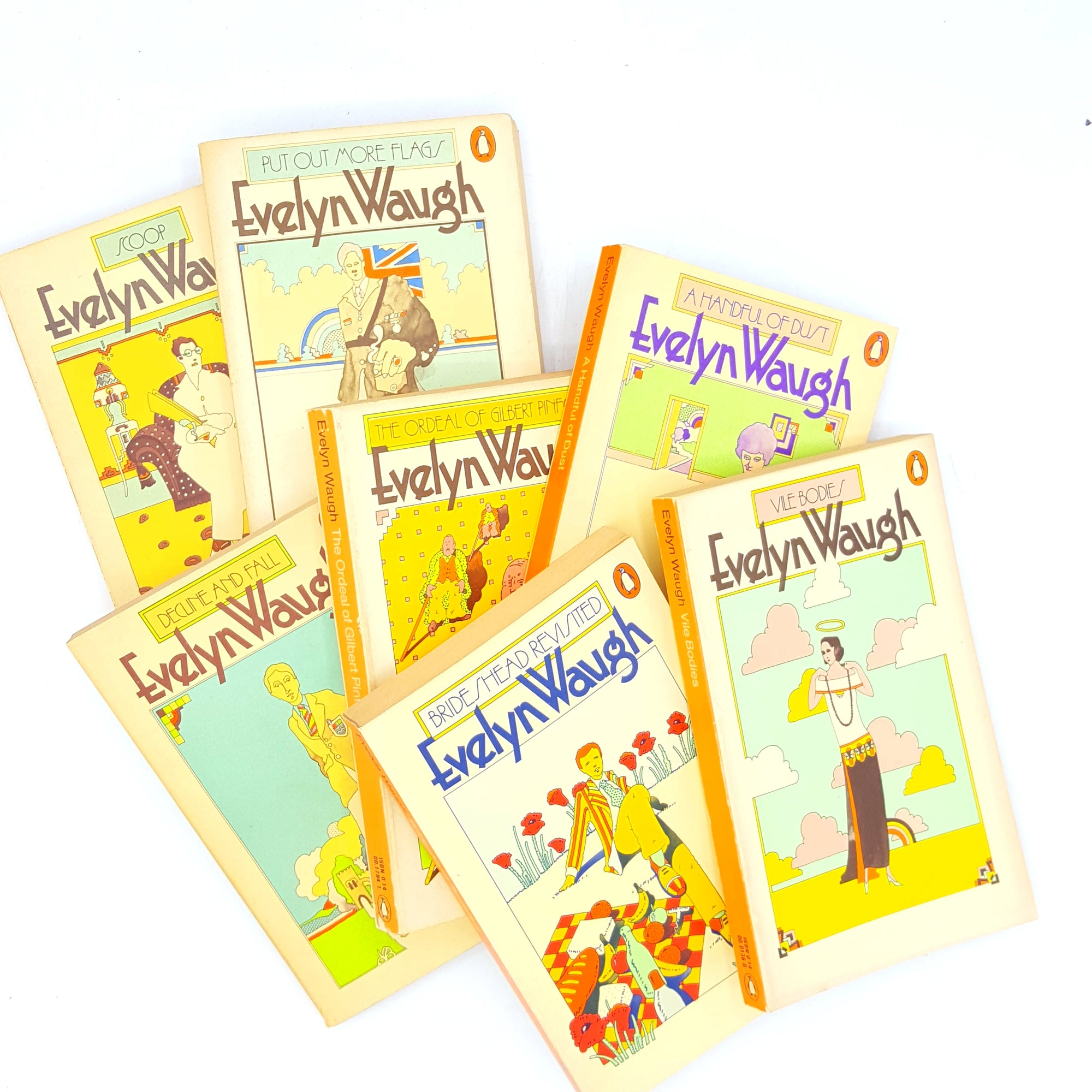 Vintage Evelyn Waugh Collection