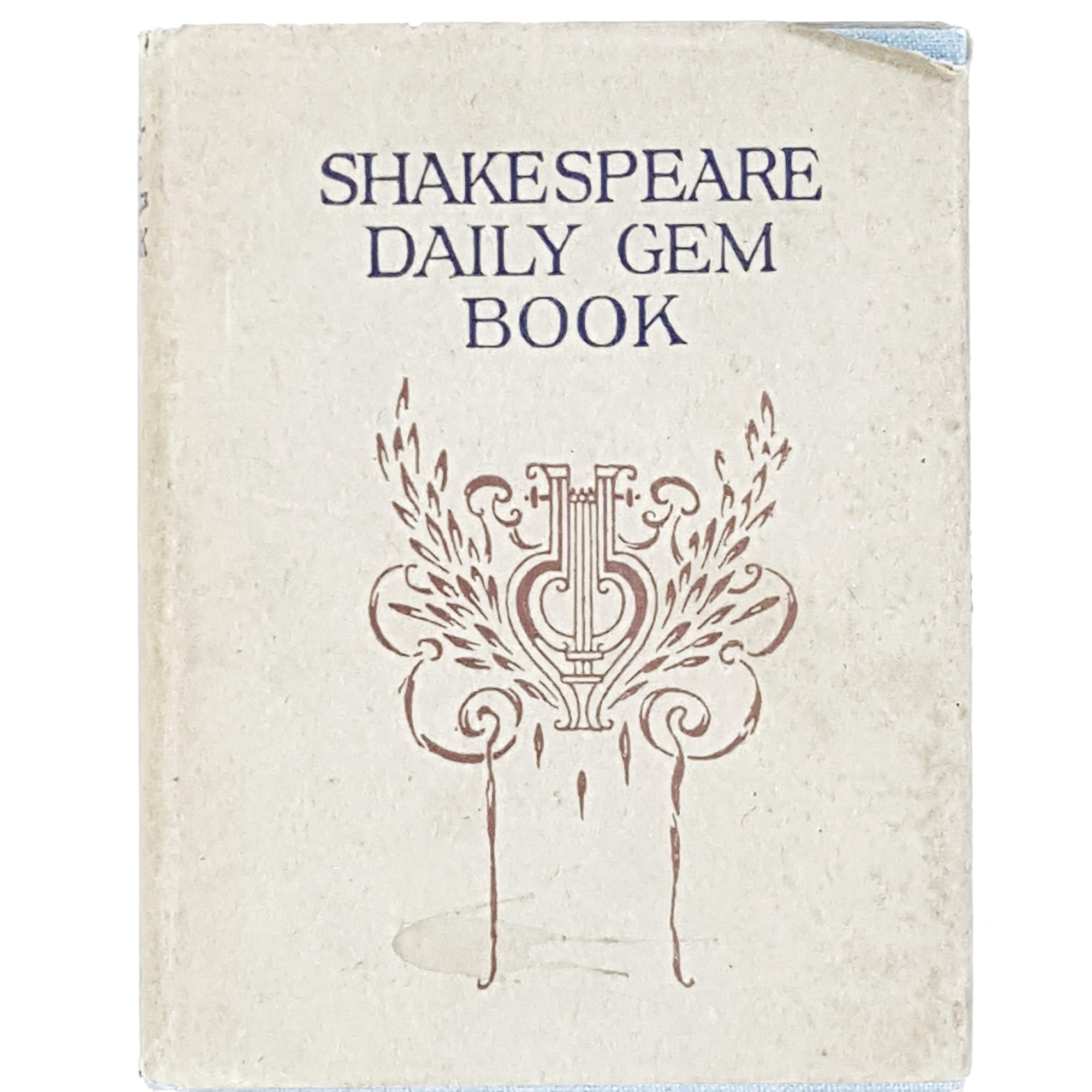 William Shakespeare Daily Gem Book