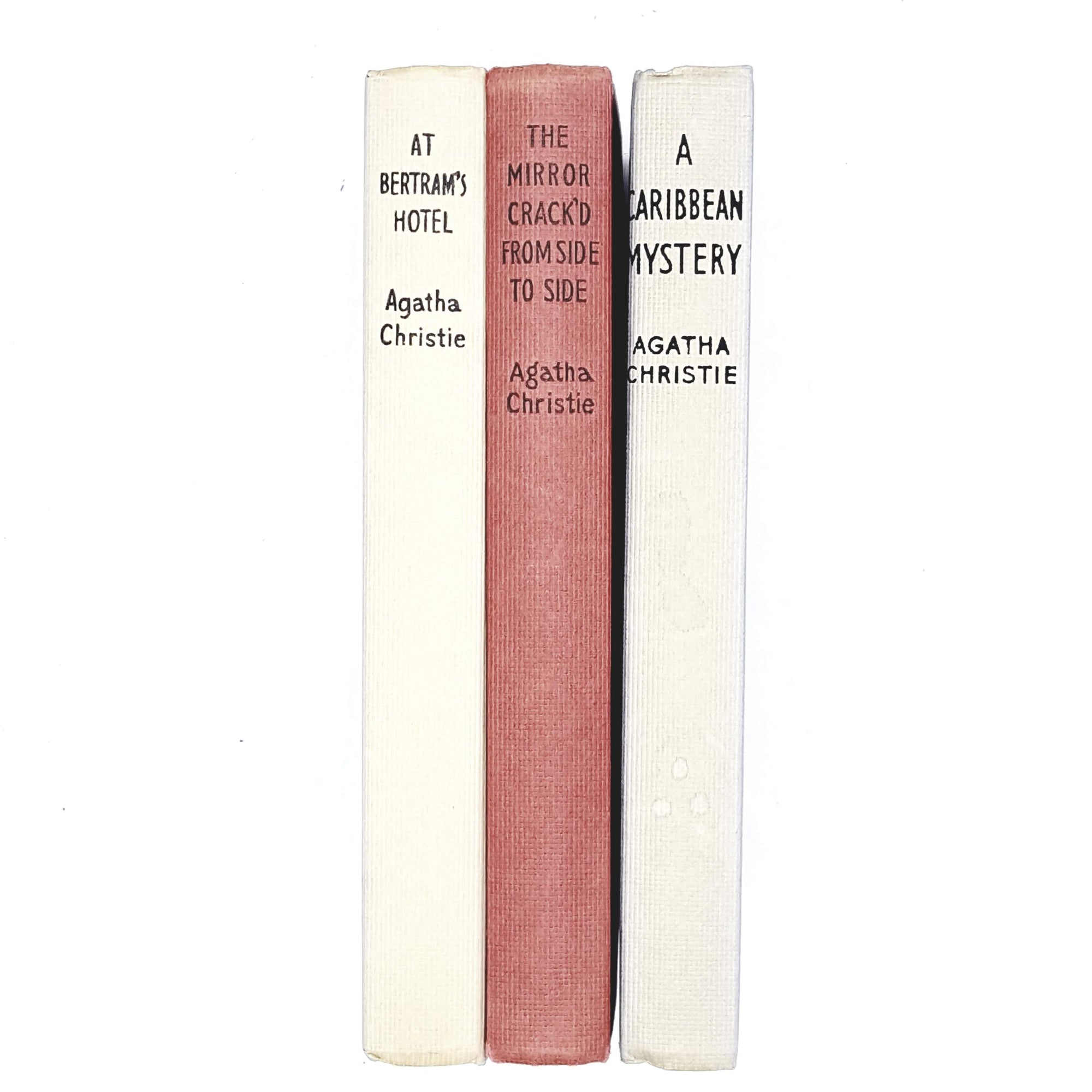 agatha-christie-collection-red-blue-crime-vintage-book-country-house-library