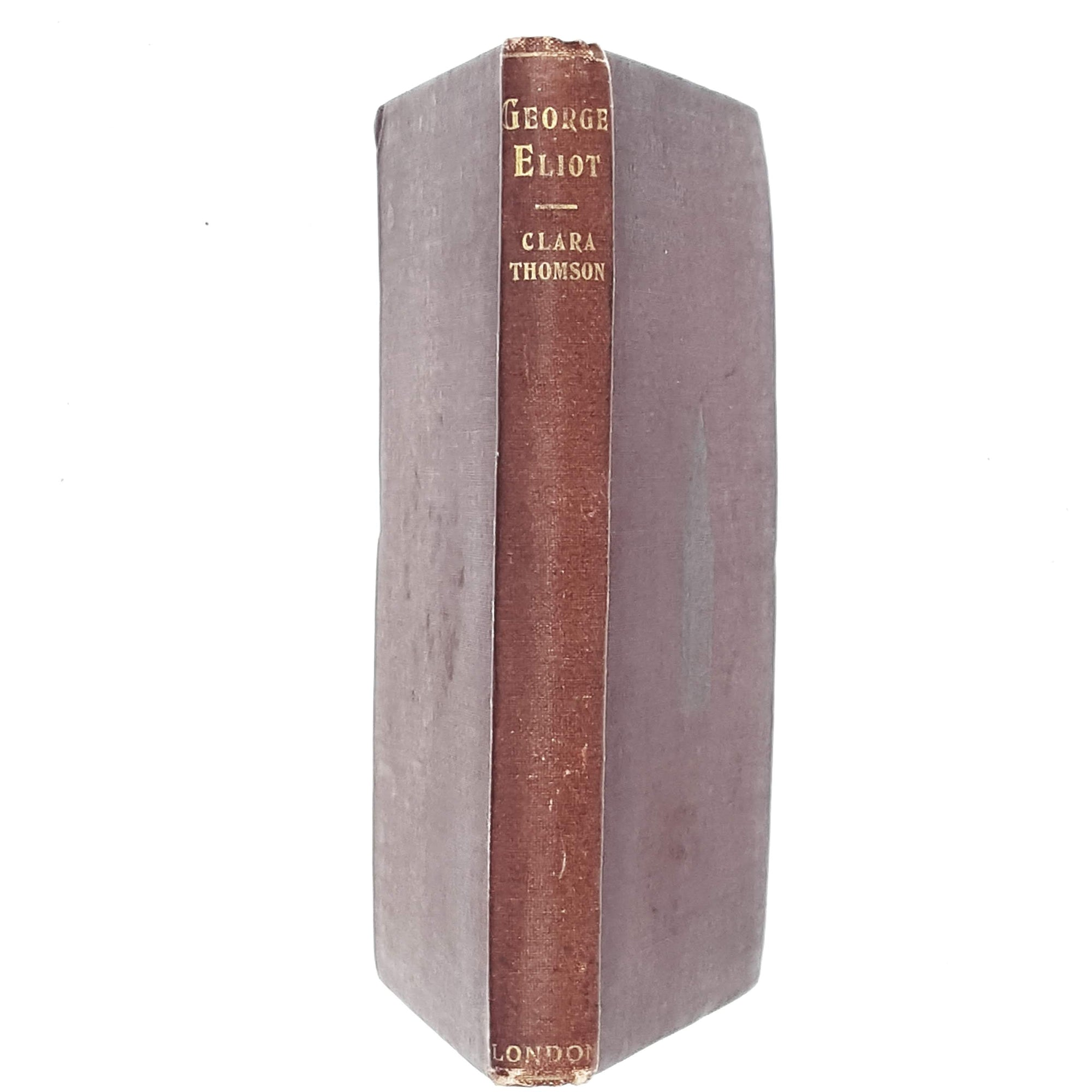 george-eliot-red-vintage-book-country-house-library