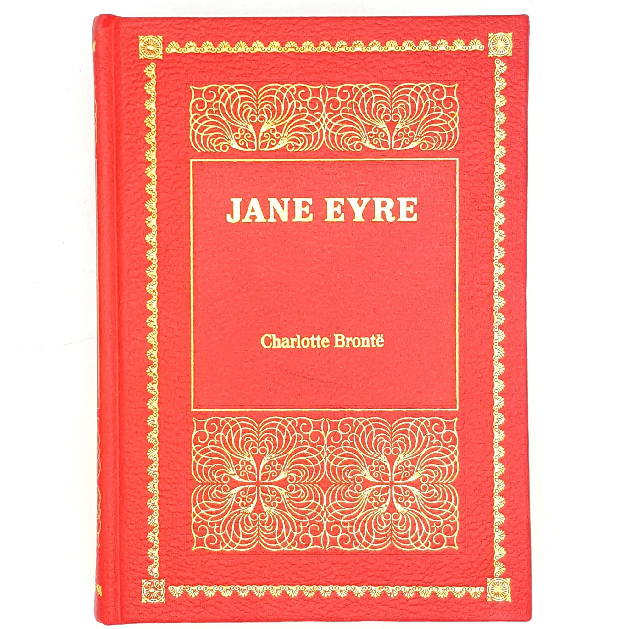 thrift-decorative-charlotte-bronte-old-country-house-library-books-1984-vintage-purnell-book-classics-red-jane-eyre-