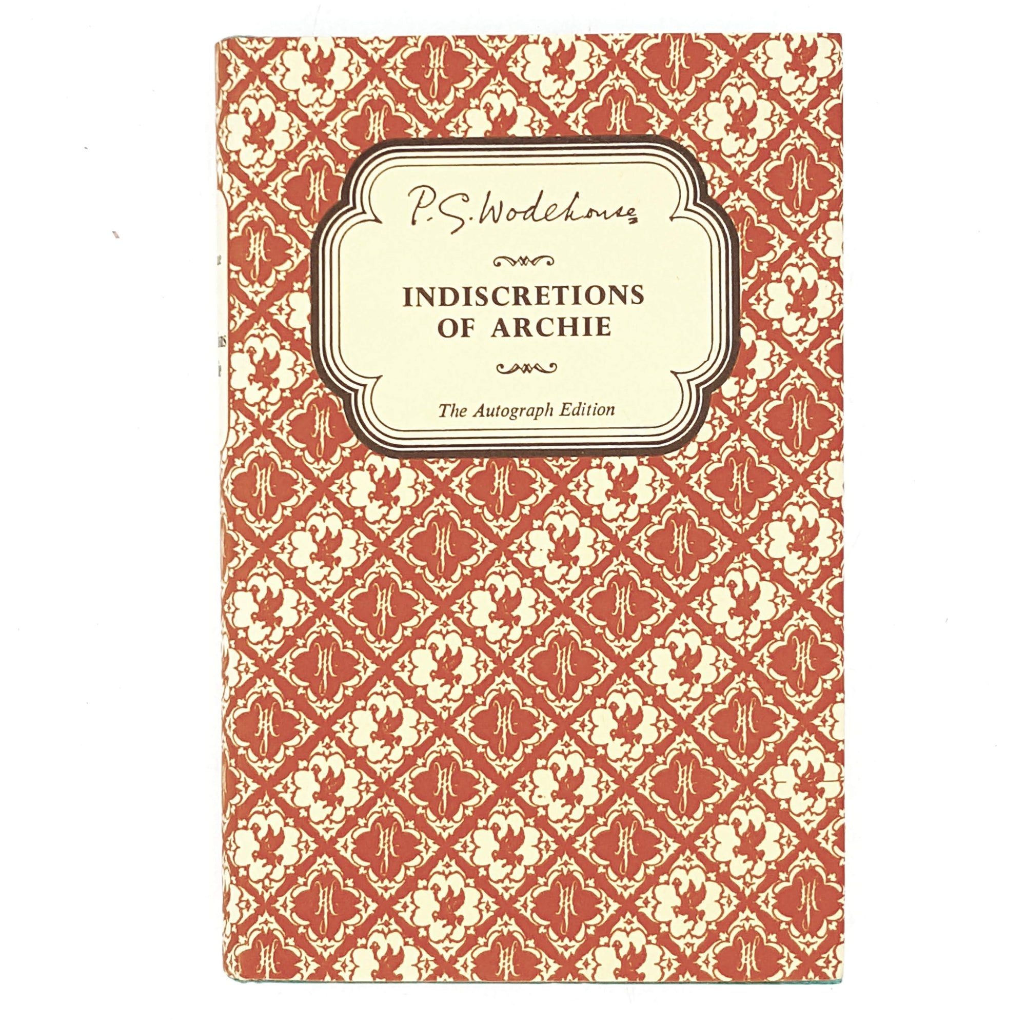 First Edition P. G. Wodehouse's Indiscretions of Archie 1965