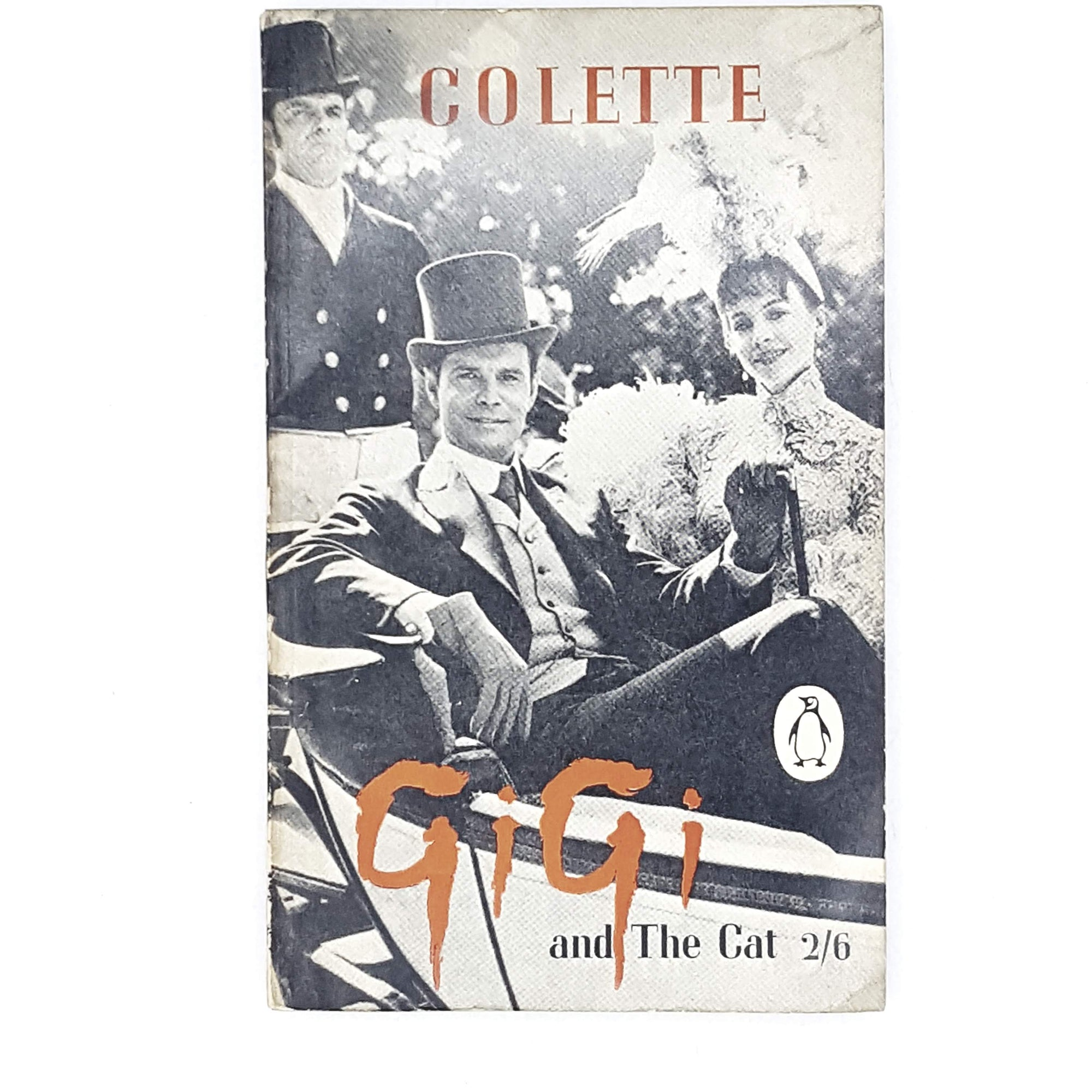 colette-gigi-penguin-vintage-book-country-house-library