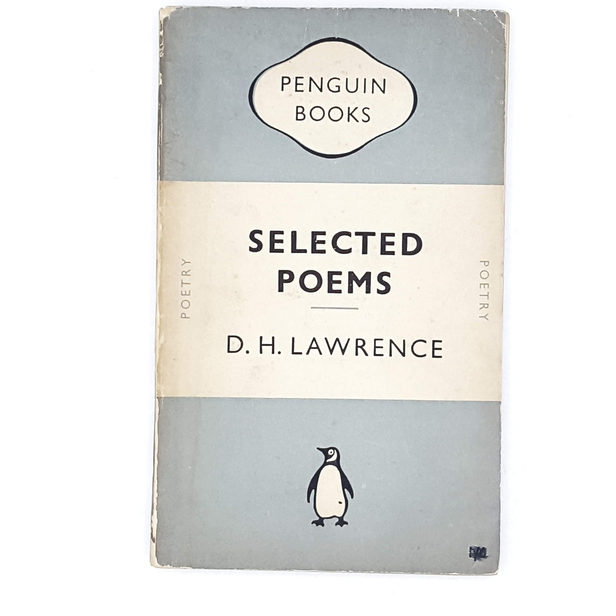 dh-lawrence-penguin-poetry-vintage-book-country-house-library