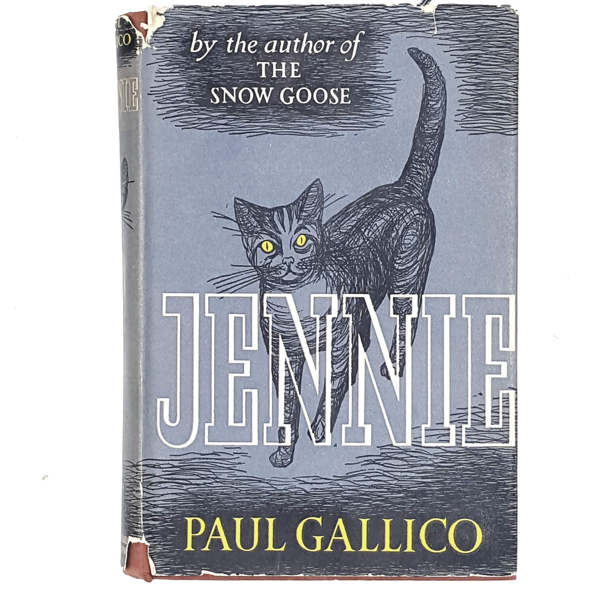 grey-paul-gallico-jennie-vintage-book-country-house-library