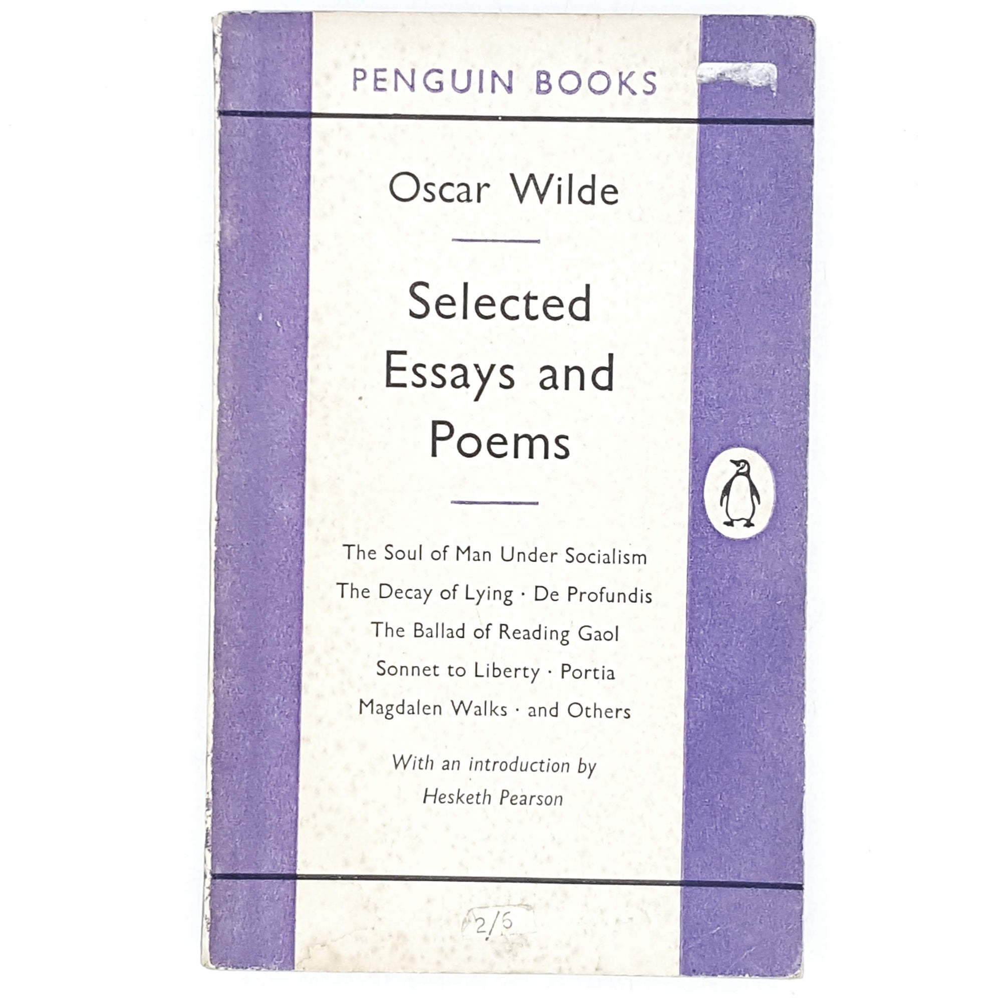 First Edition Oscar Wilde's Selected Essays and Poems 1954