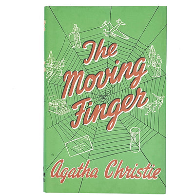green-agatha-christie-crime-vintage-book-country-house-library