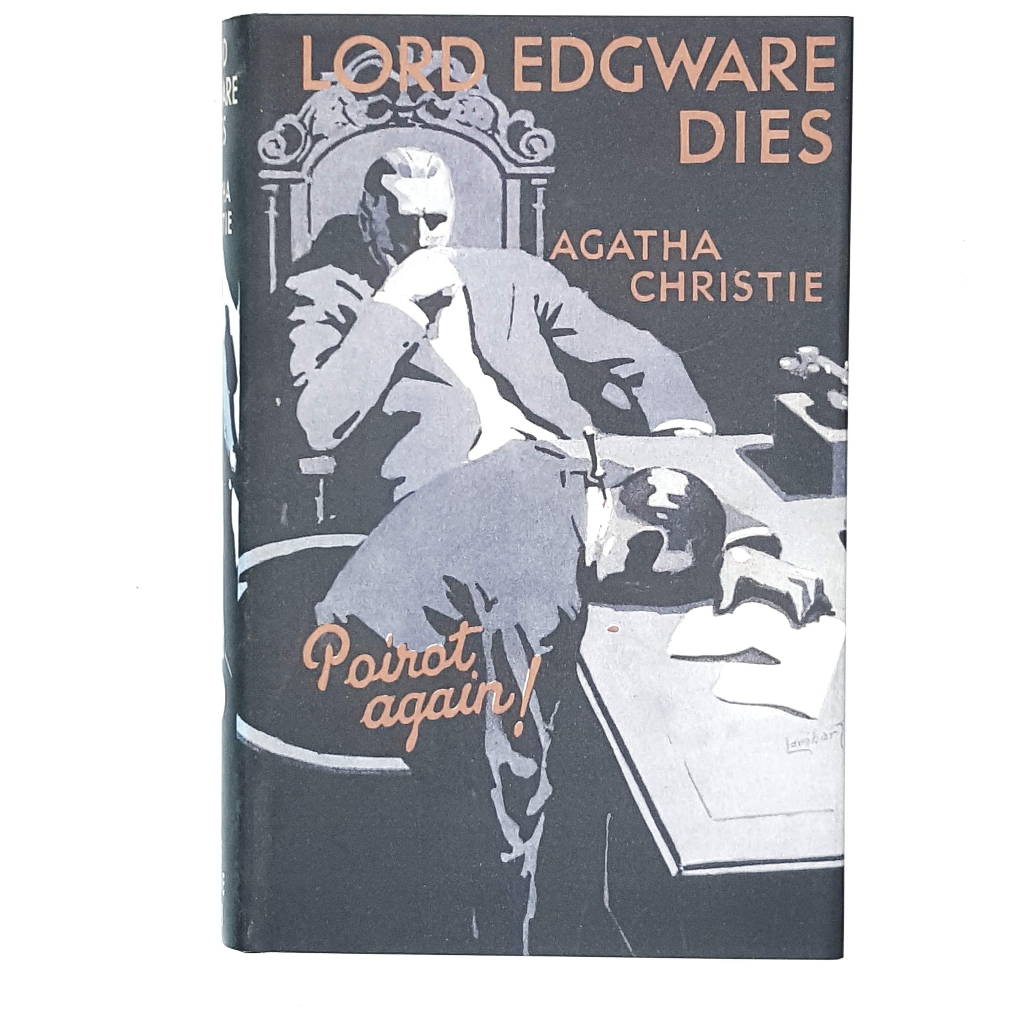 black-lord-agatha-christie-crime-vintage-book-country-house-library