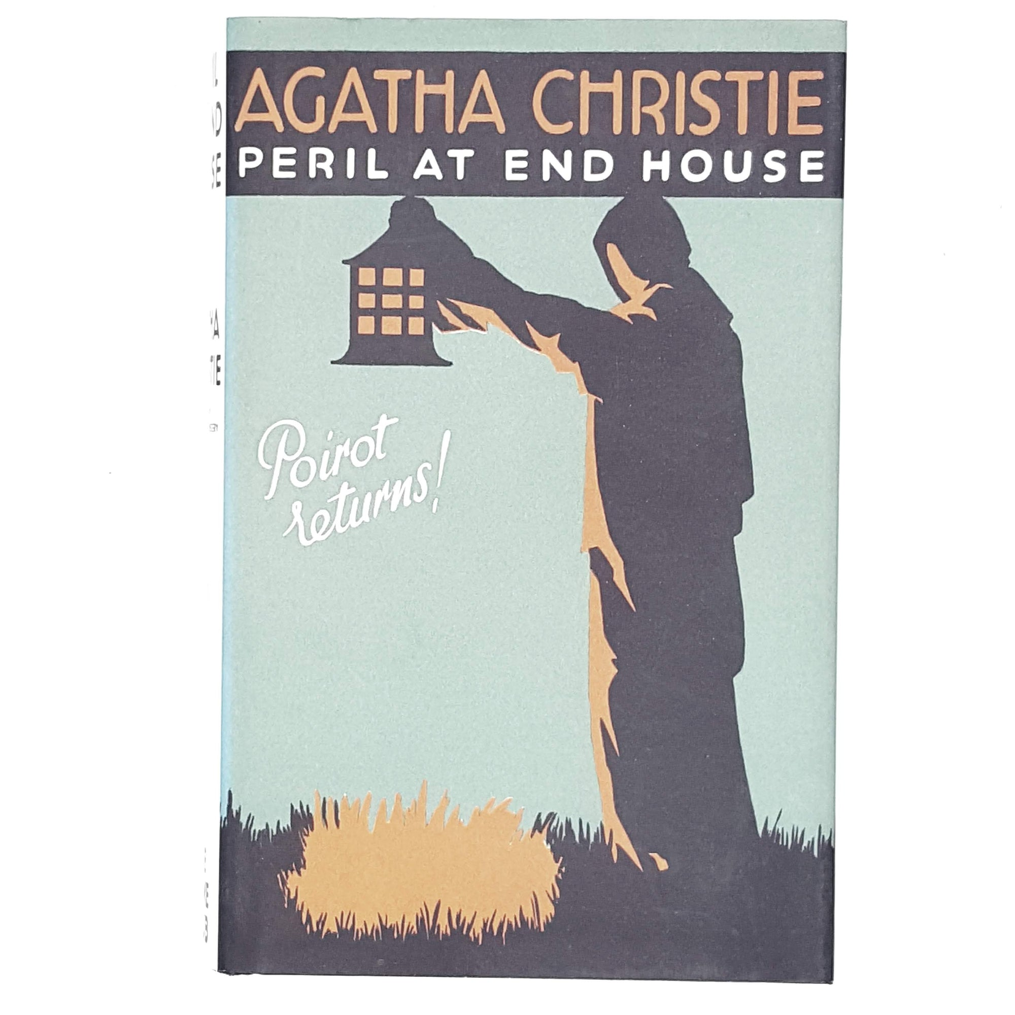 green-peril-agatha-christie-crime-vintage-book-country-house-library