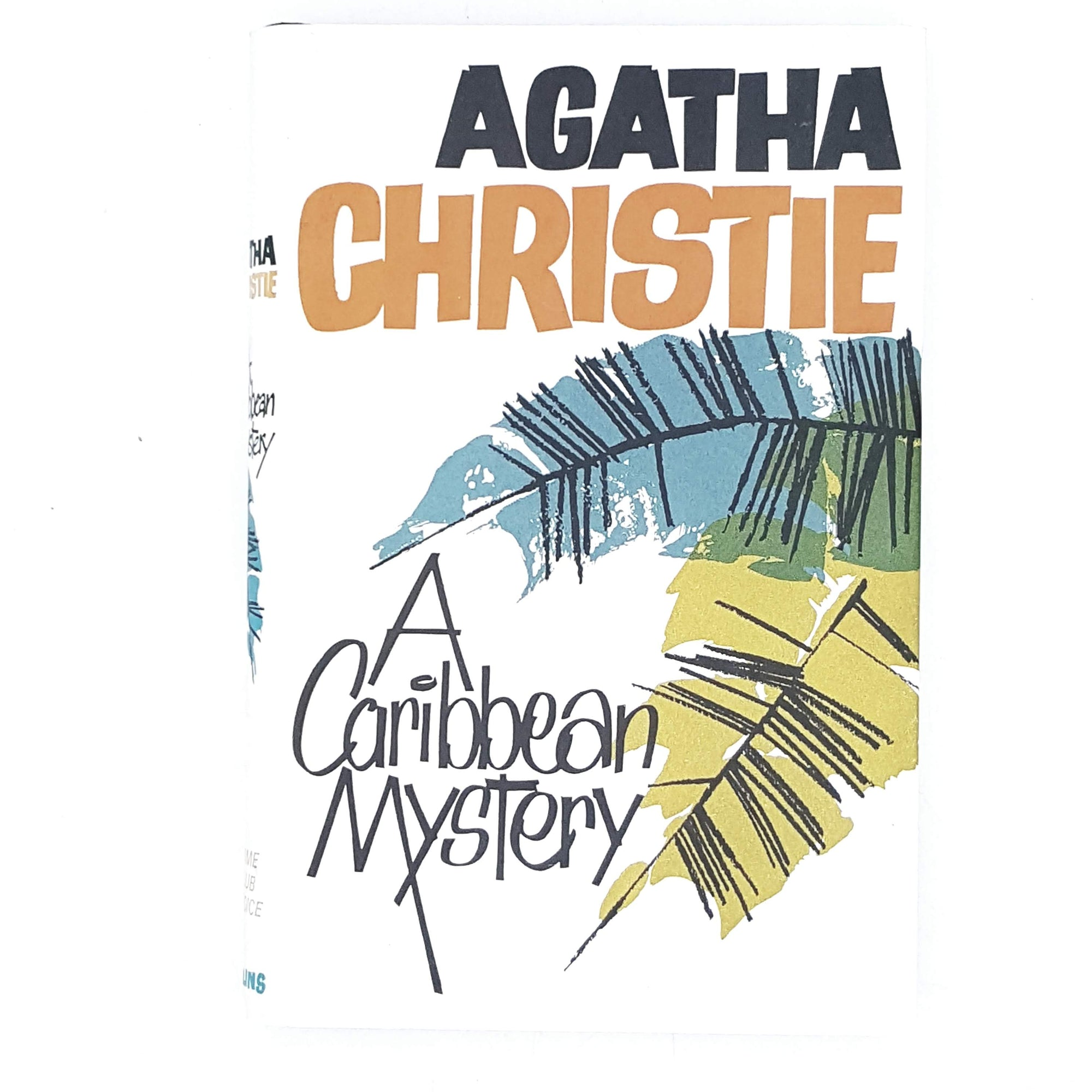 white-caribbean-agatha-christie-crime-vintage-book-country-house-library