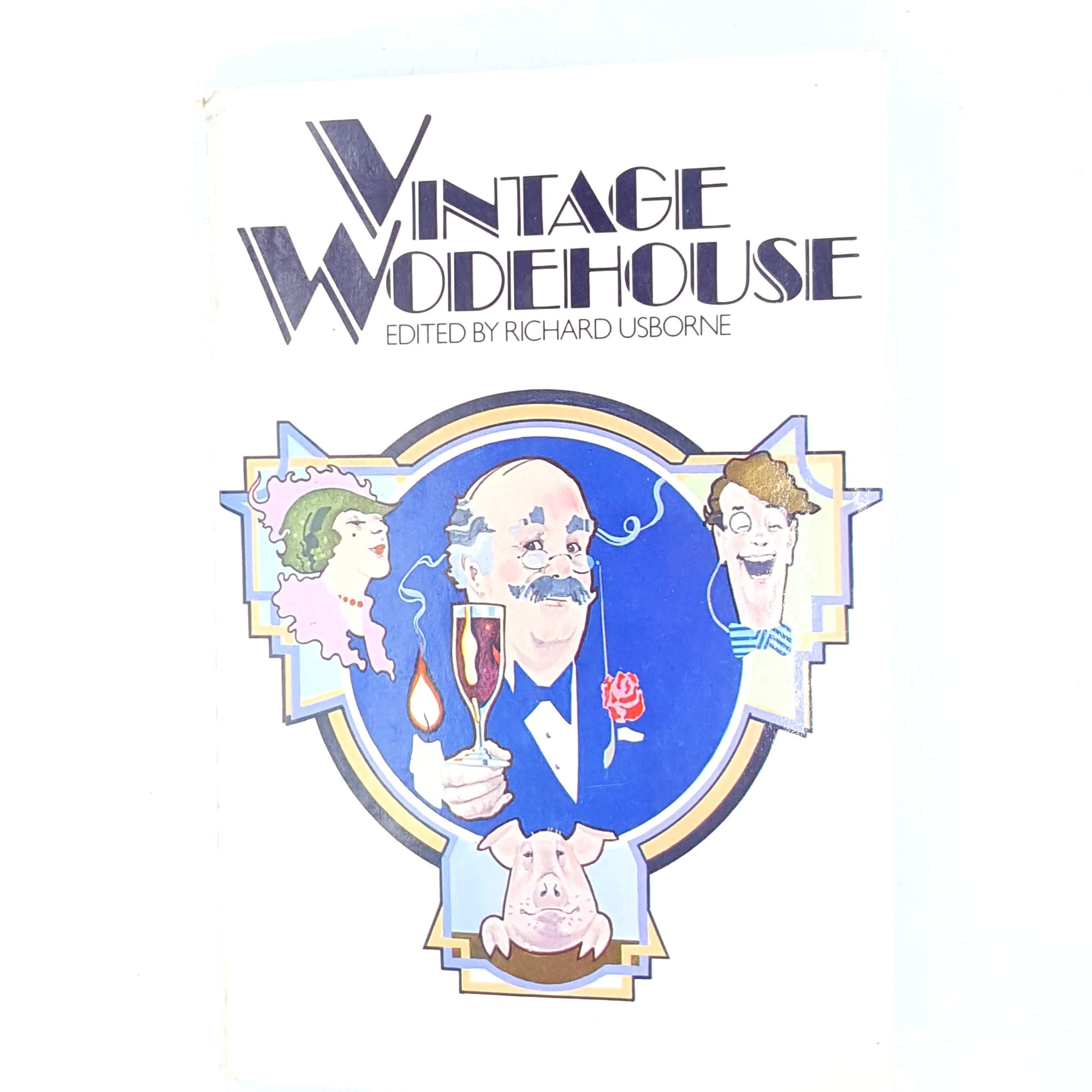 white-jeeves-books-1920-classic-PG-wodehouse-fiction-country-house-library-old-vintage-thrift-