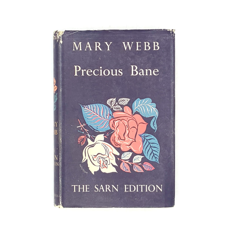 country-house-library-mary-webb-rare-old-thrift-black-art-deco-books-vintage-style-