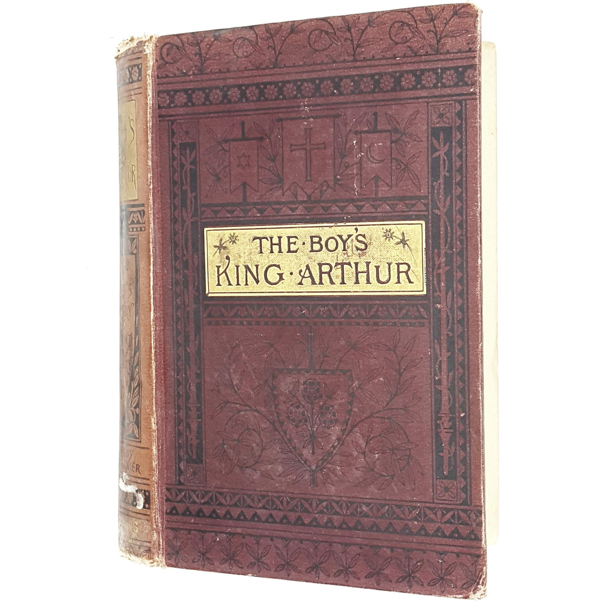history-red-king-arthur-vintage-book-country-house-library