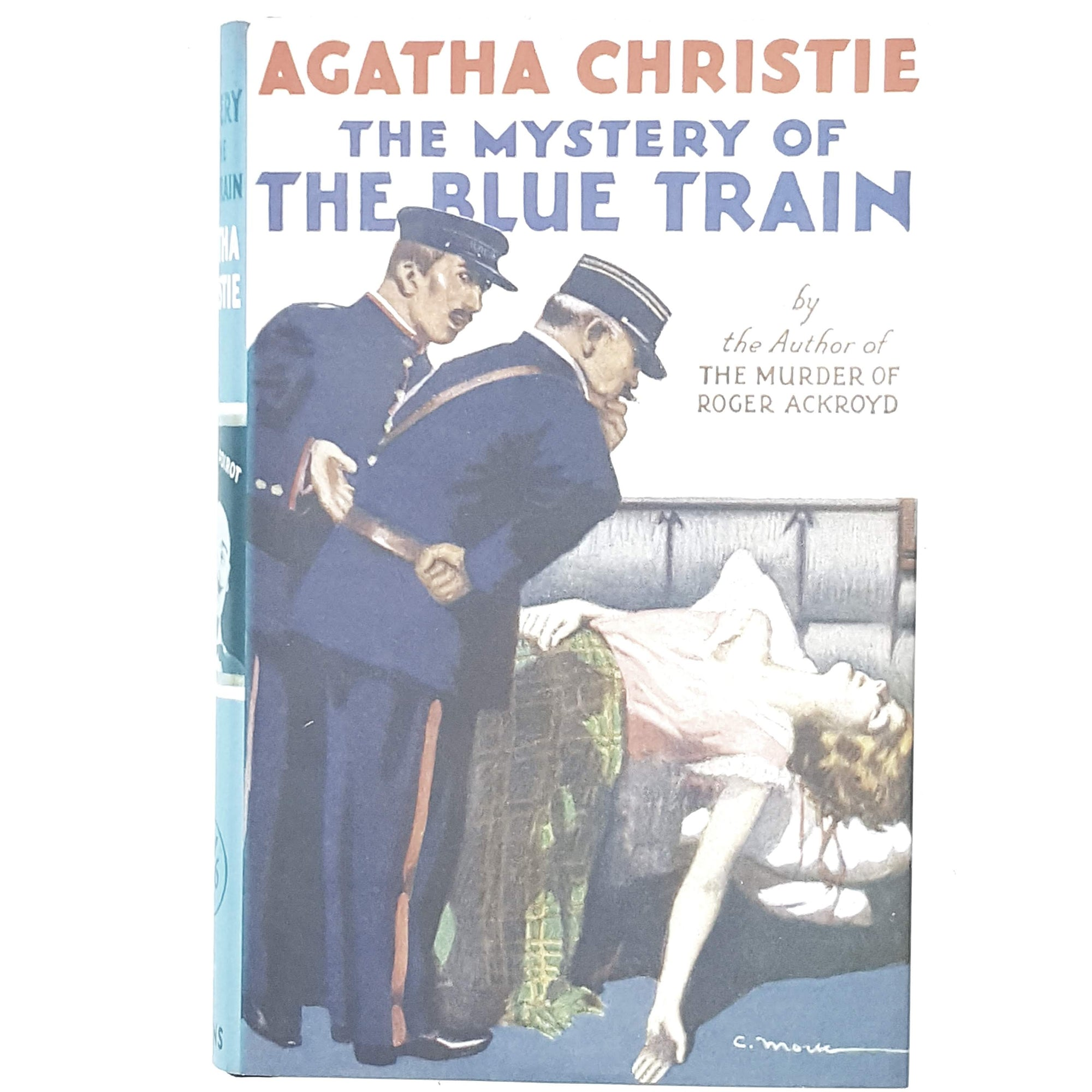 agatha-christie-blue-vintage-book-country-house-libraryc