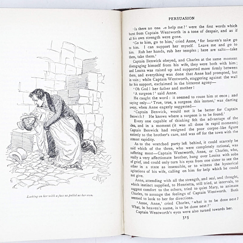 Jane Austen's Northanger Abbey & Persuasion, illustrated 1926