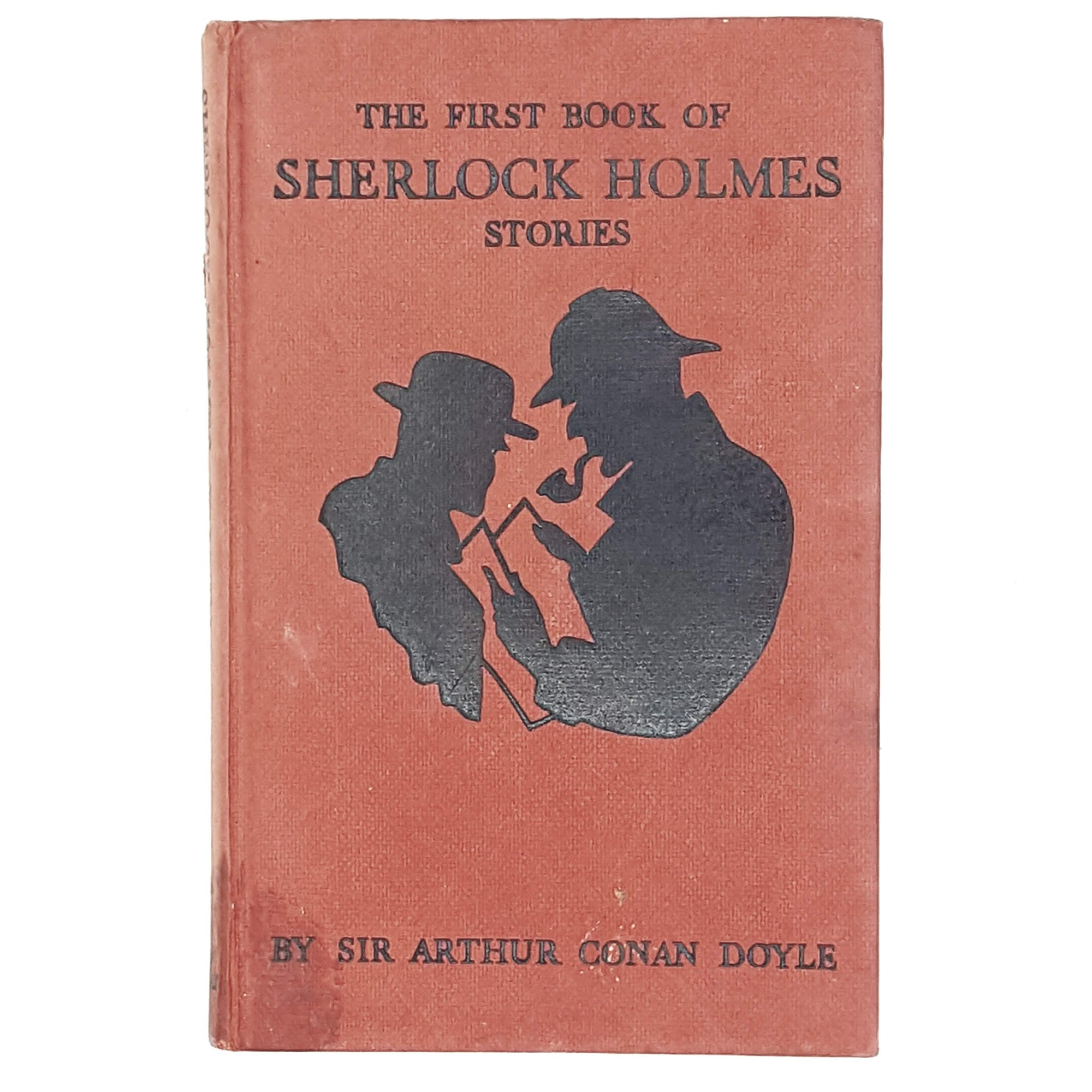 Sir Arthur Conan Doyle's First Book of Sherlock Holmes Stories, illustrated 1960