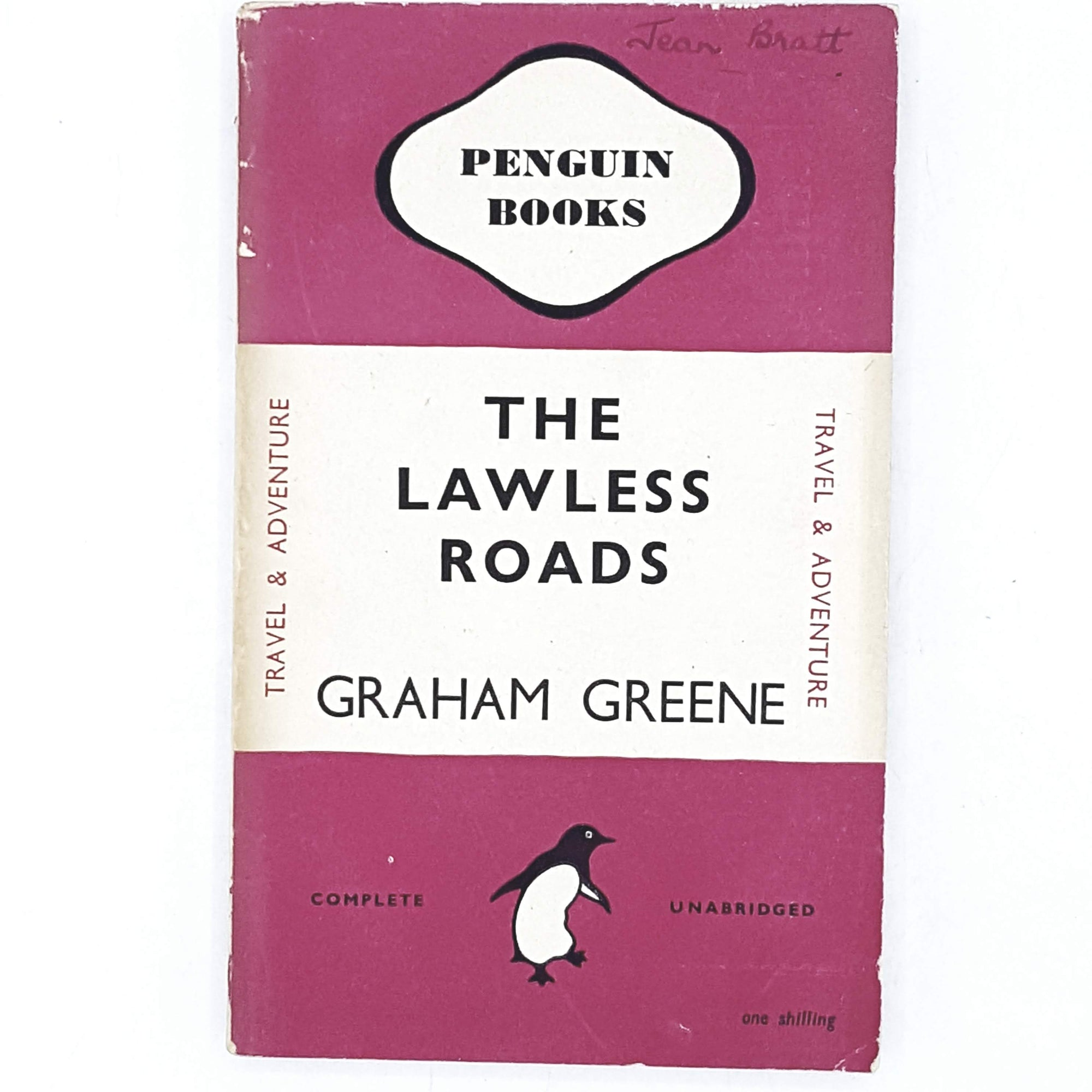 Graham Greene's The Lawless Road 1947