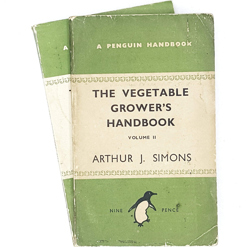 Collection Penguin Vegetable Grower's Handbook set 1945