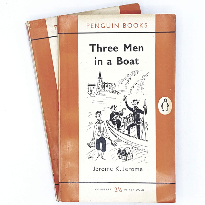 Collection Ernest Hemingway Orange Penguin Classic Set 1959 - 1960