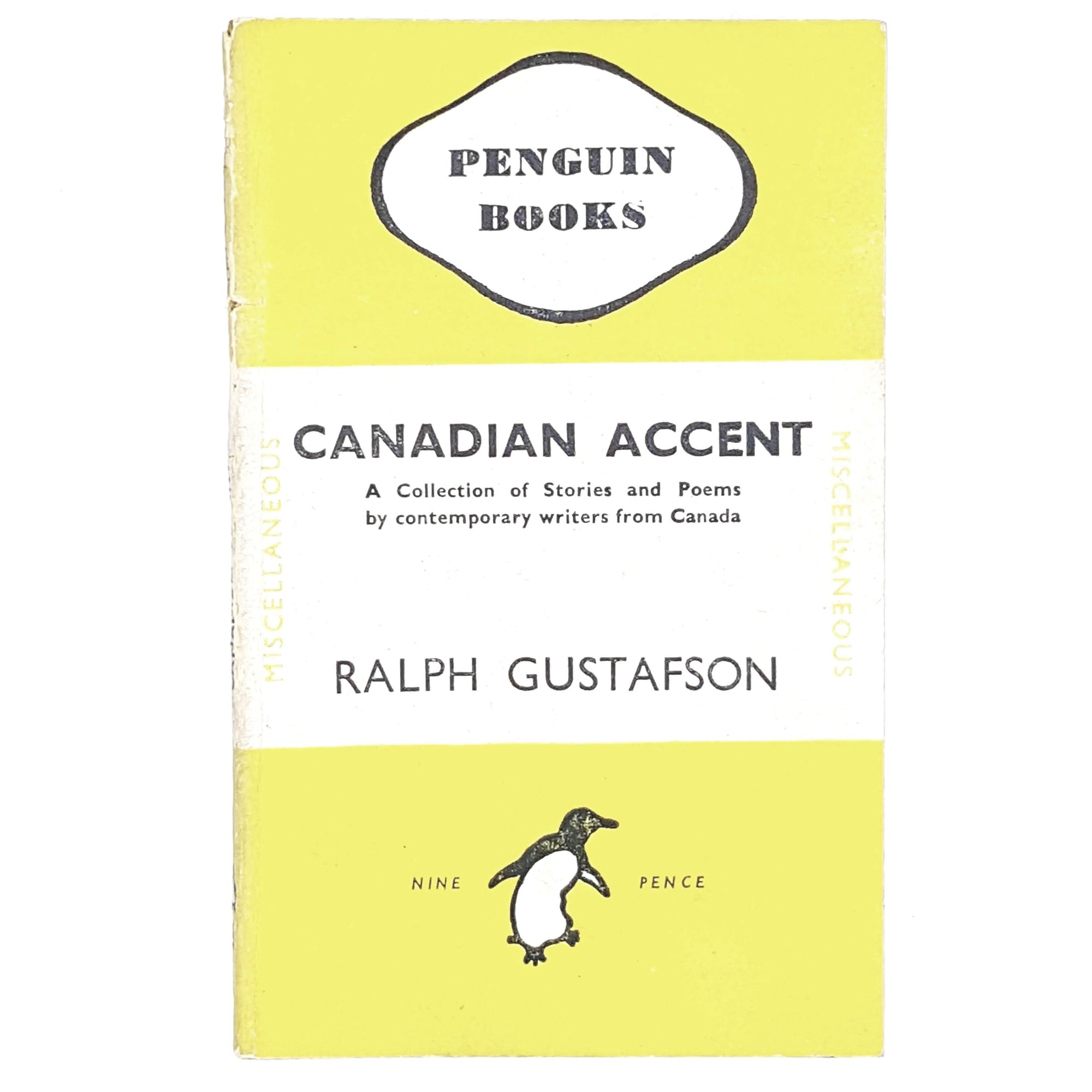 yellow-penguin-ralph-gustafson-vintage-country-house-library