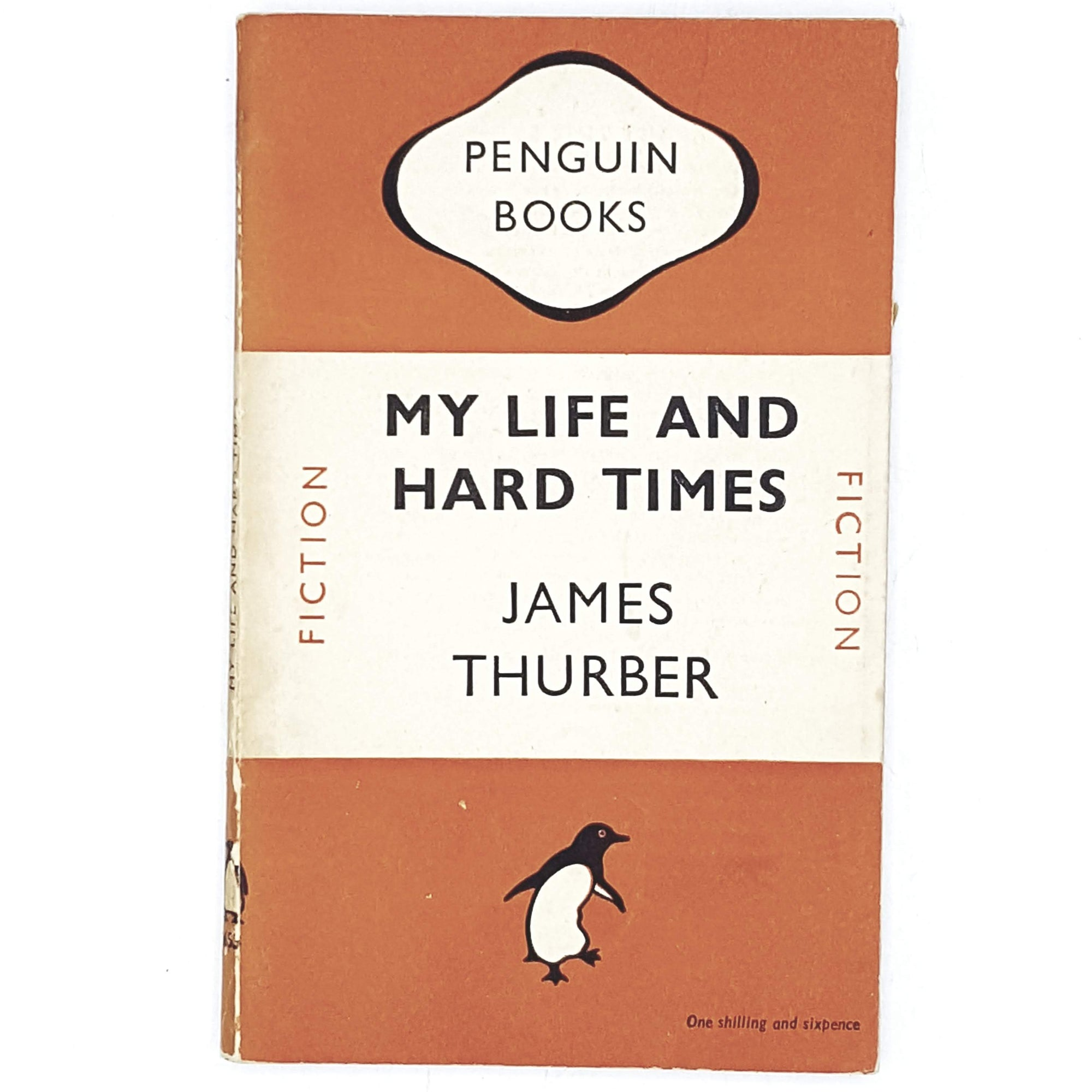 Vintage Penguin My Life and Hard Times by James Thurber 1948