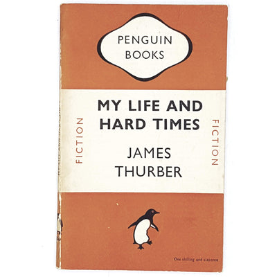 orange-penguin-james-thurber-vintage-country-house-library