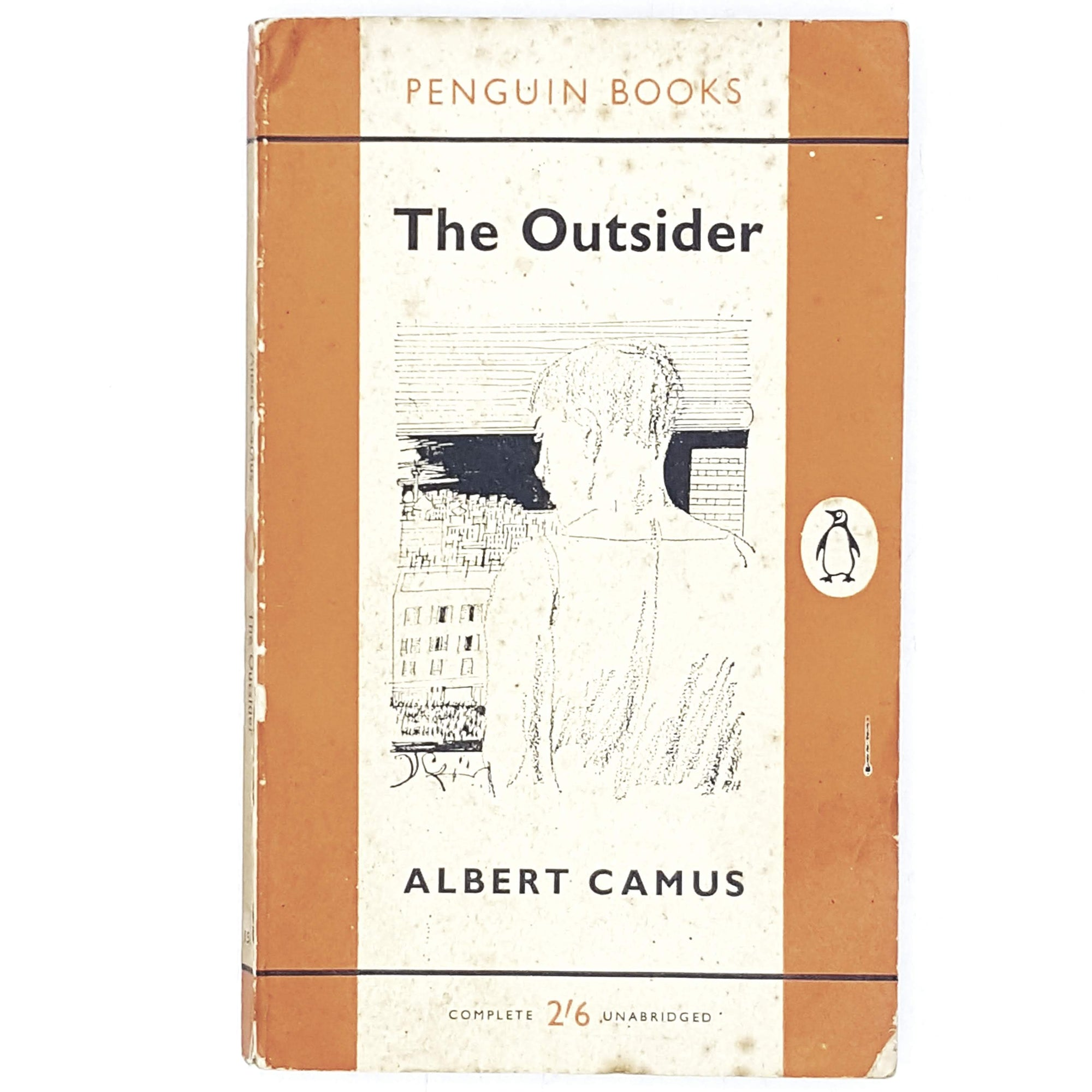albert-camus-orange-penguin-vintage-country-house-library