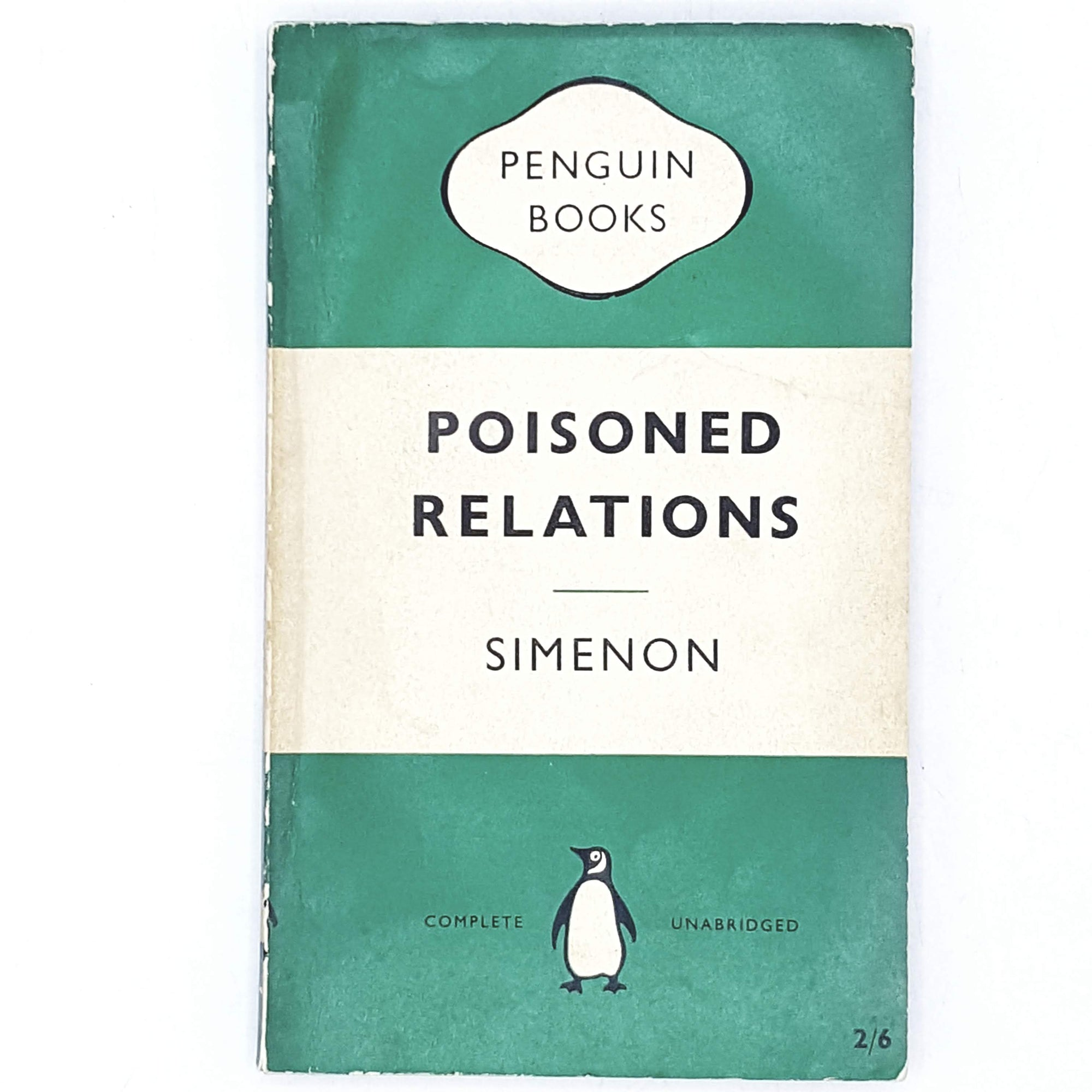 First Edition Simenon's Poisoned Relations 1958