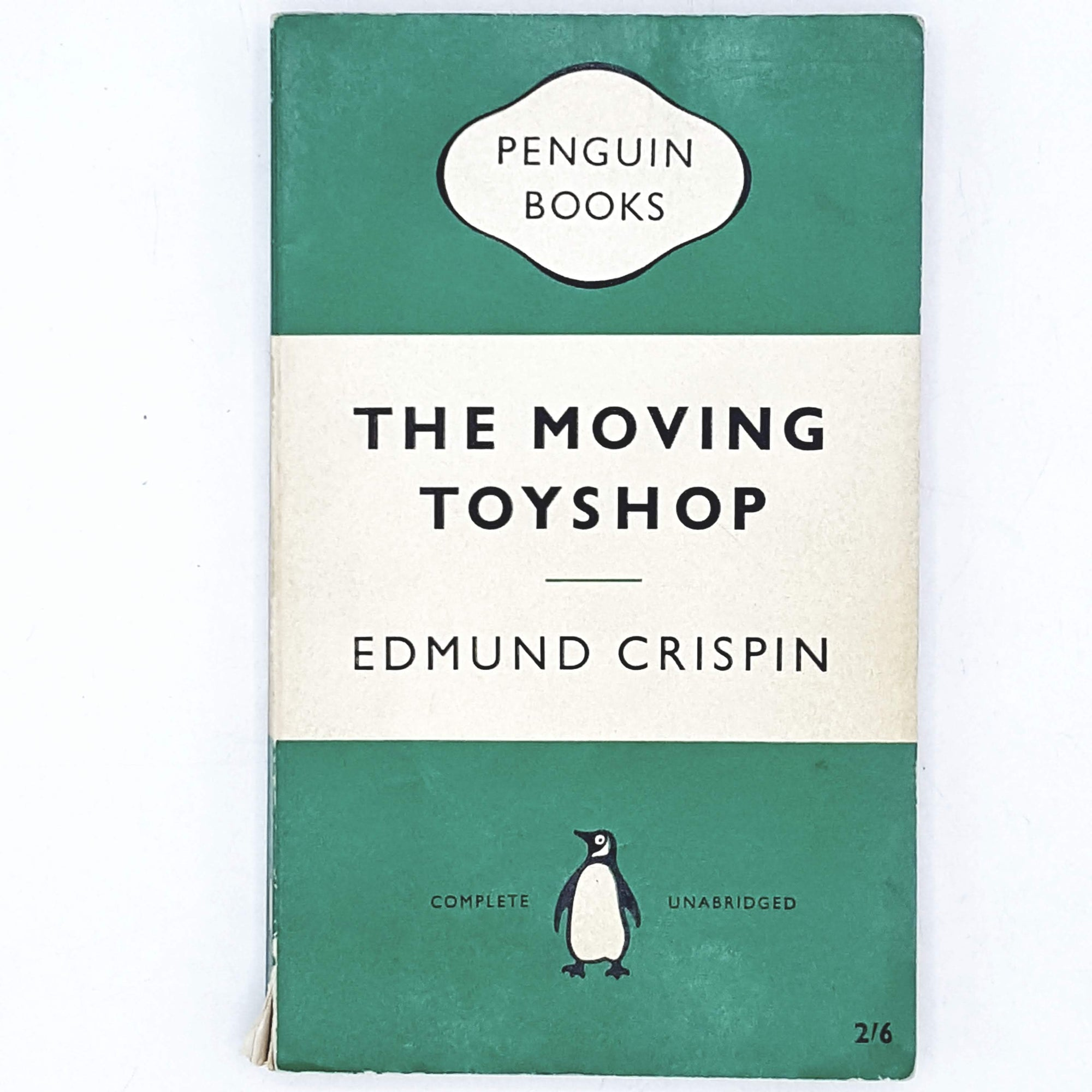 Vintage Penguin The Moving Toyshop by Edmund Crispin 1960