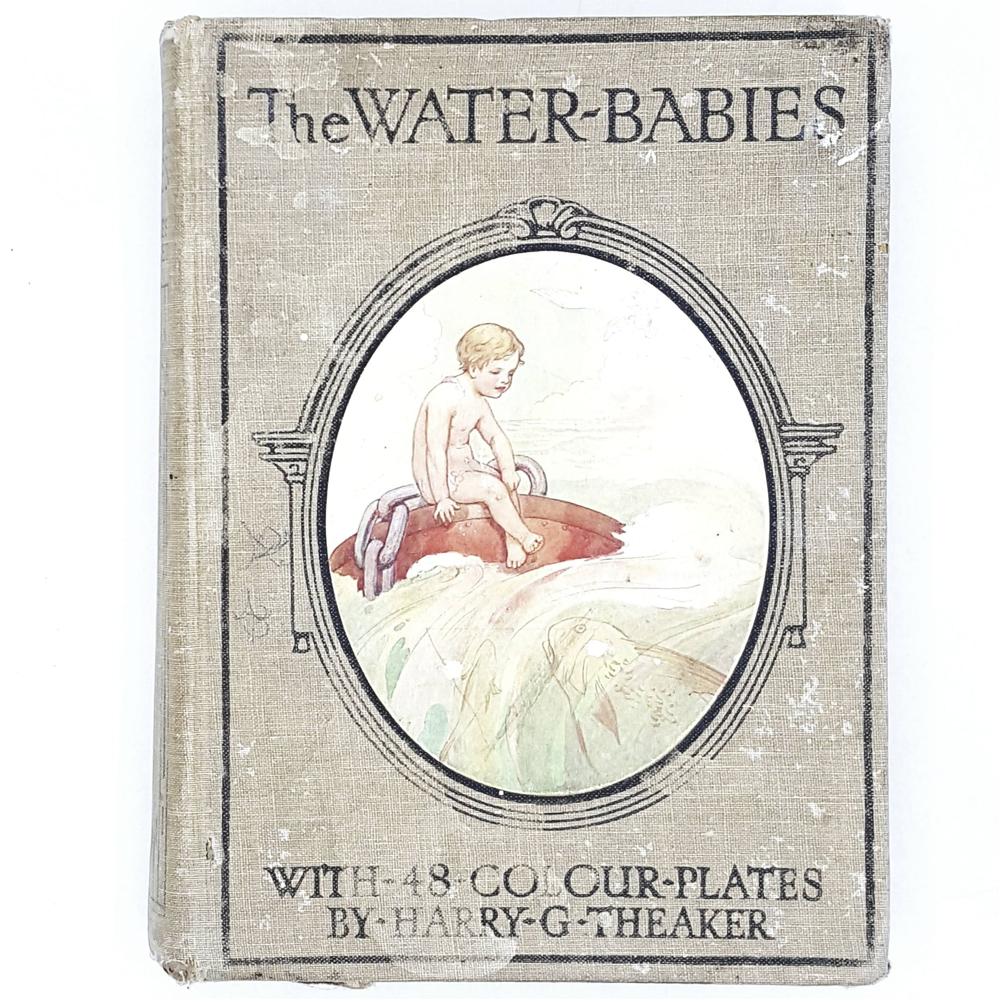 grey-water-babies-vintage-country-house-library