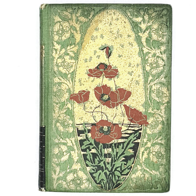 green-flowers-poetry-vintage-country-house-library