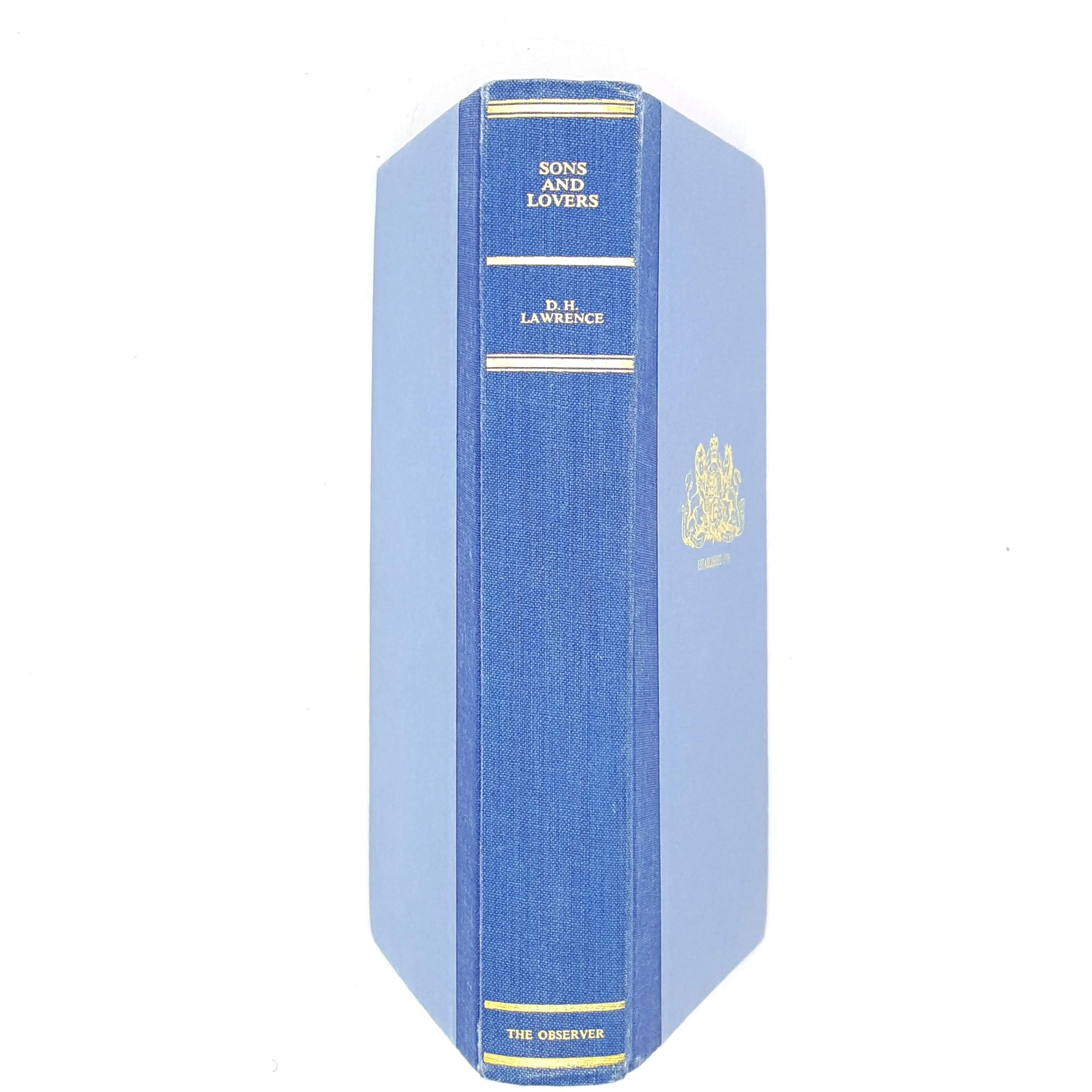 Sons and Lovers by D.H. Lawrence The Observer Edition