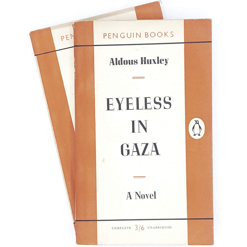 Collection Aldous Huxley Brave New World and Eyeless in Gaza 1955 - 1960