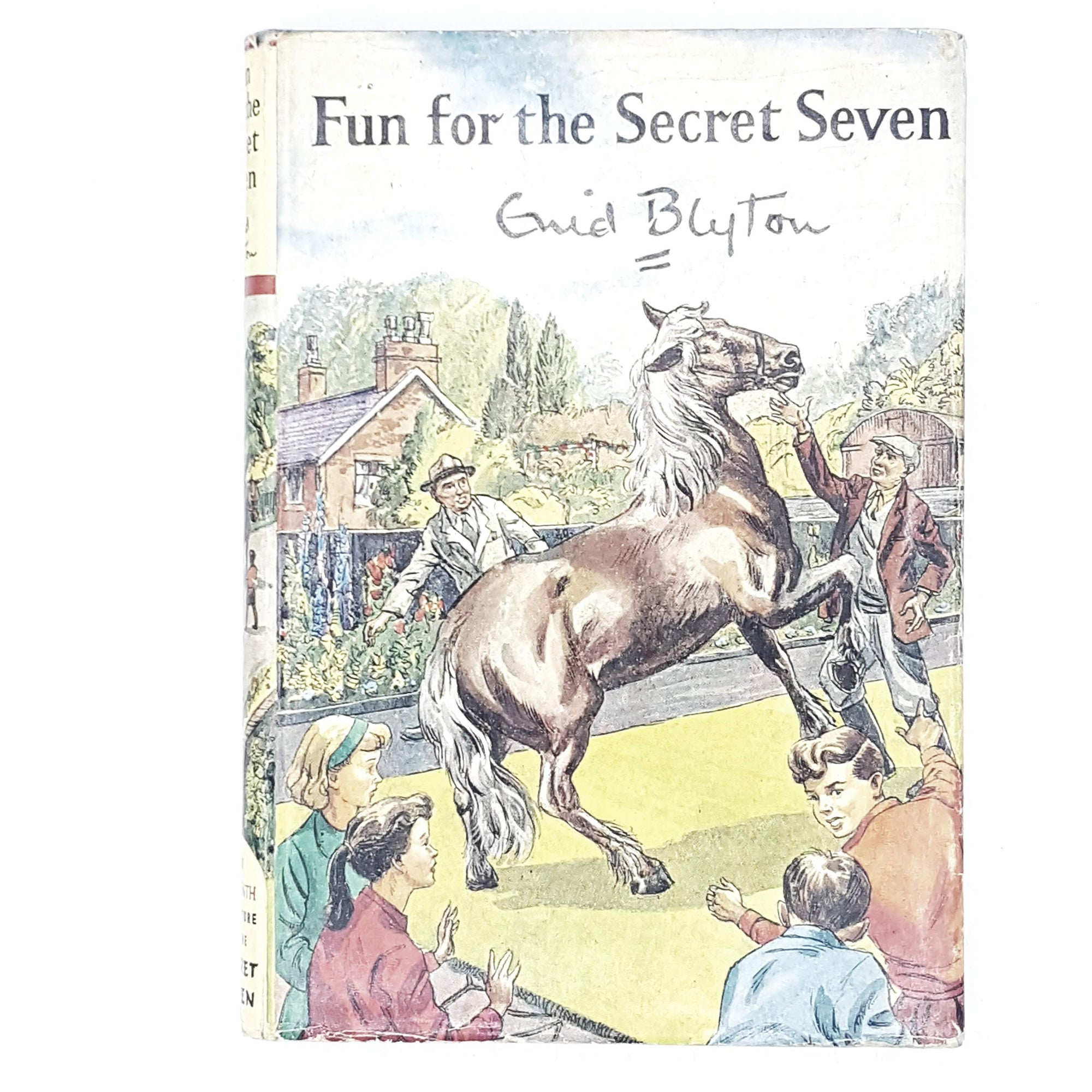 First Edition Enid Blyton's Fun for the Secret Seven 1963#