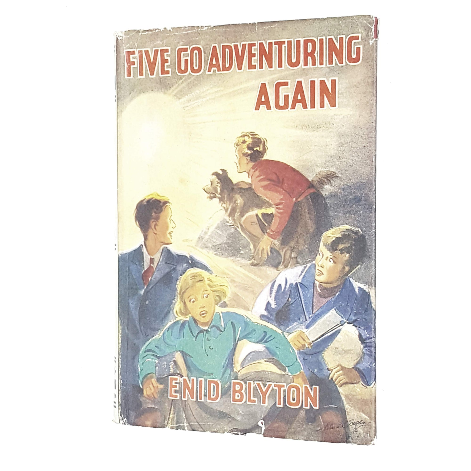 Enid Blyton's Five Go Adventuring Again 1949