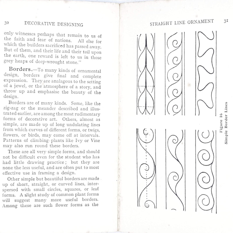 Illustrated Decorative Designing by T. R. Grayson