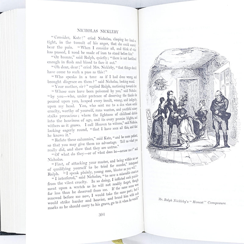 Charles Dickens's Nicholas Nickleby, illustrated
