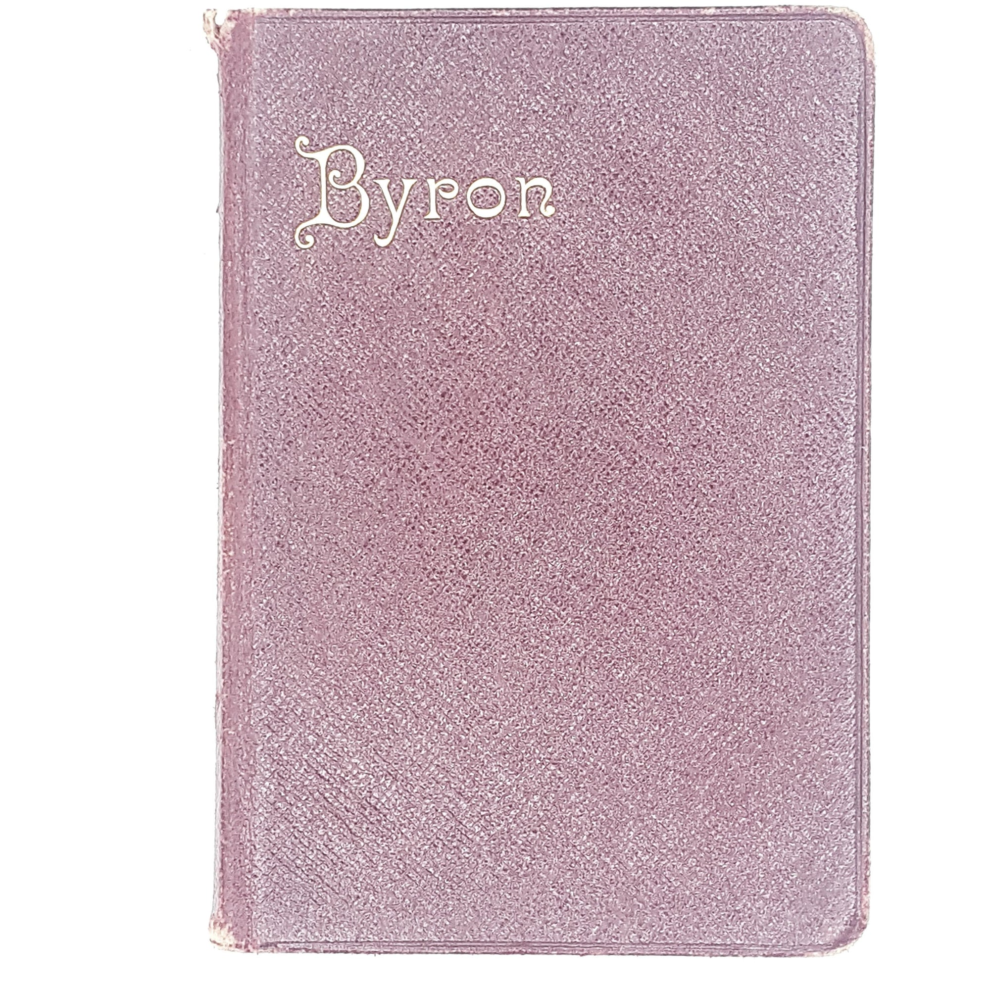 Vintage Poetry: Bryon's Poetical Works 1904