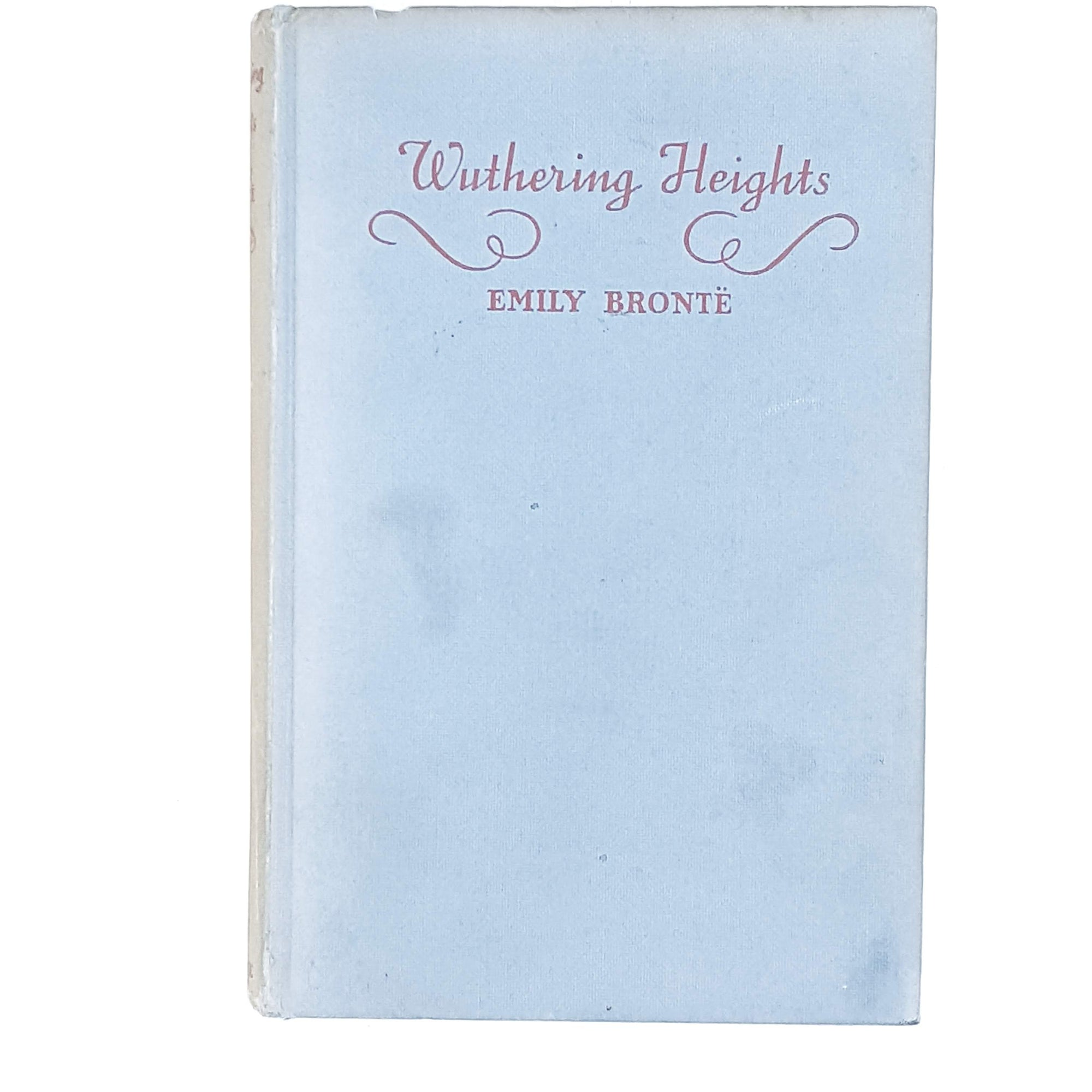 Emily Brontë's Wuthering Heights sky blue