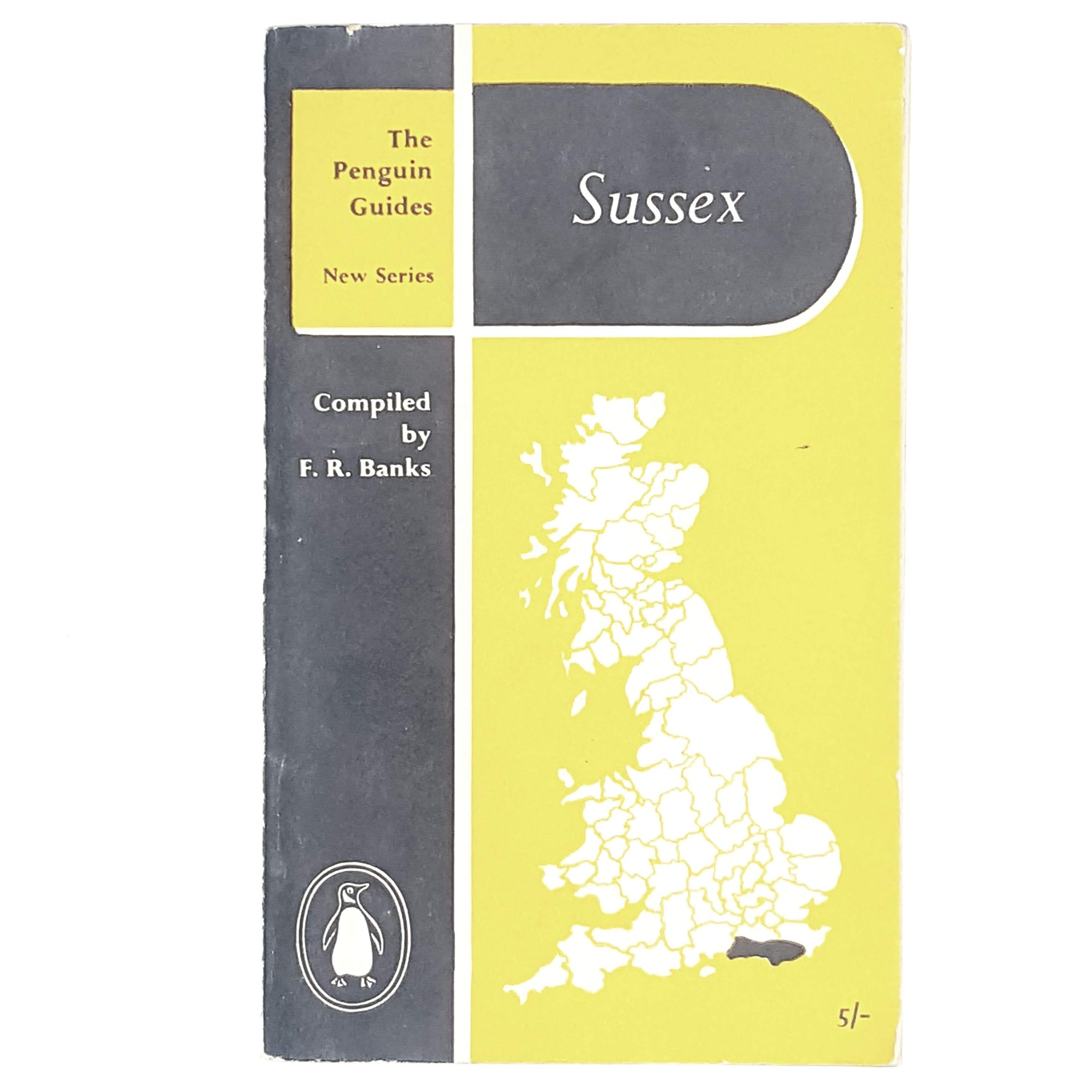 First Edition Penguin Guide to Sussex 1957